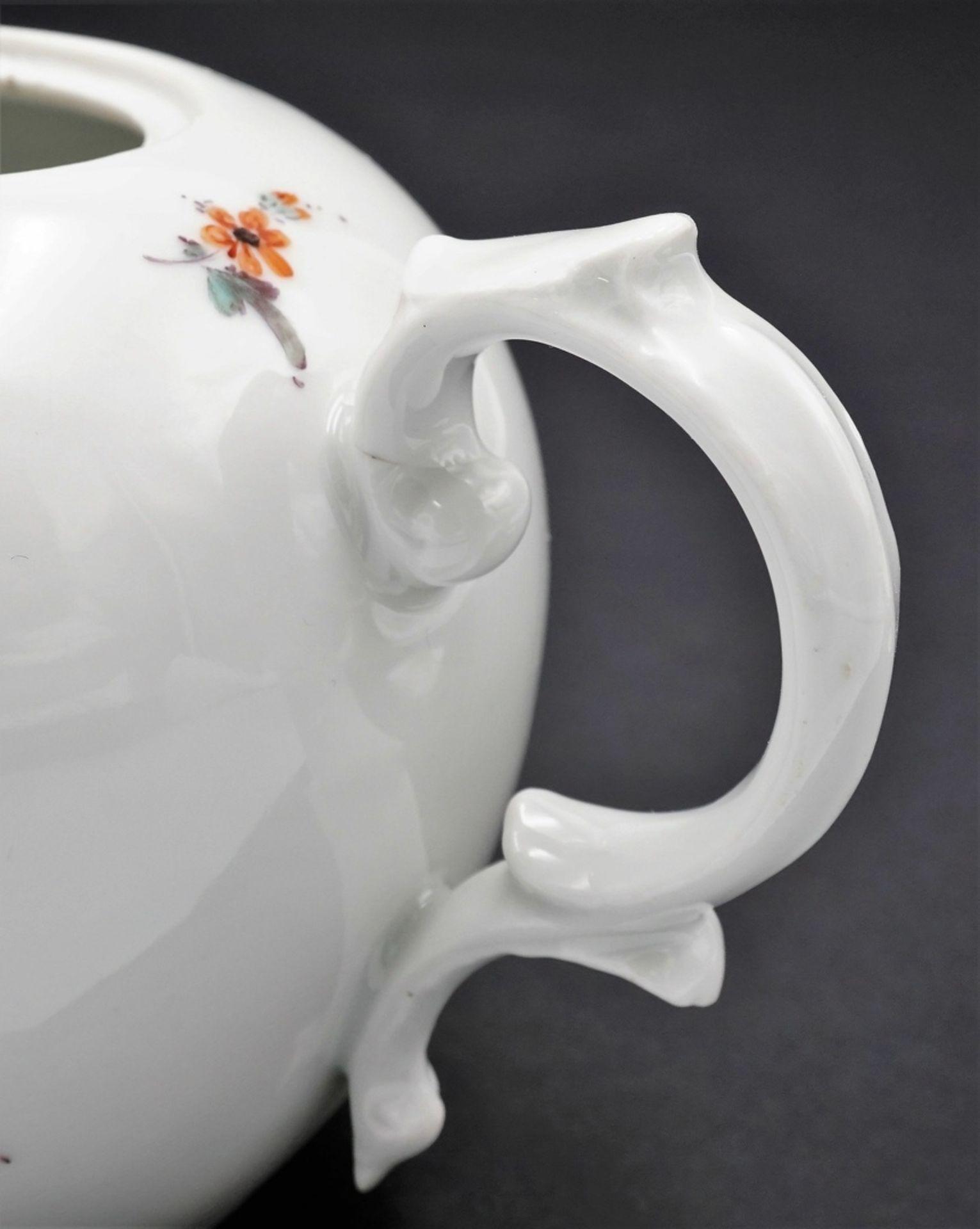 Fürstenberg Teekanne mit Blumenmalerei - Bild 4 aus 4