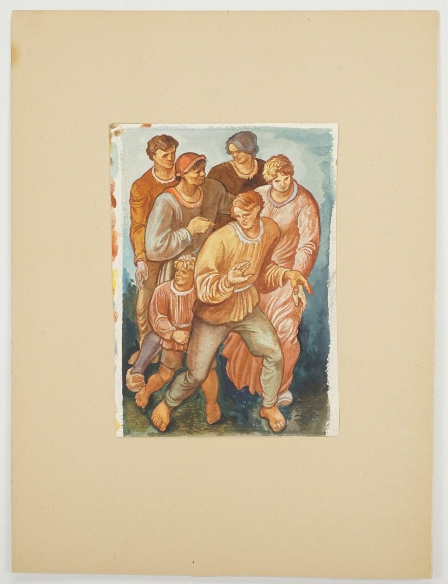 Richard Schwarzkopf, Figurengruppe - Bild 3 aus 4