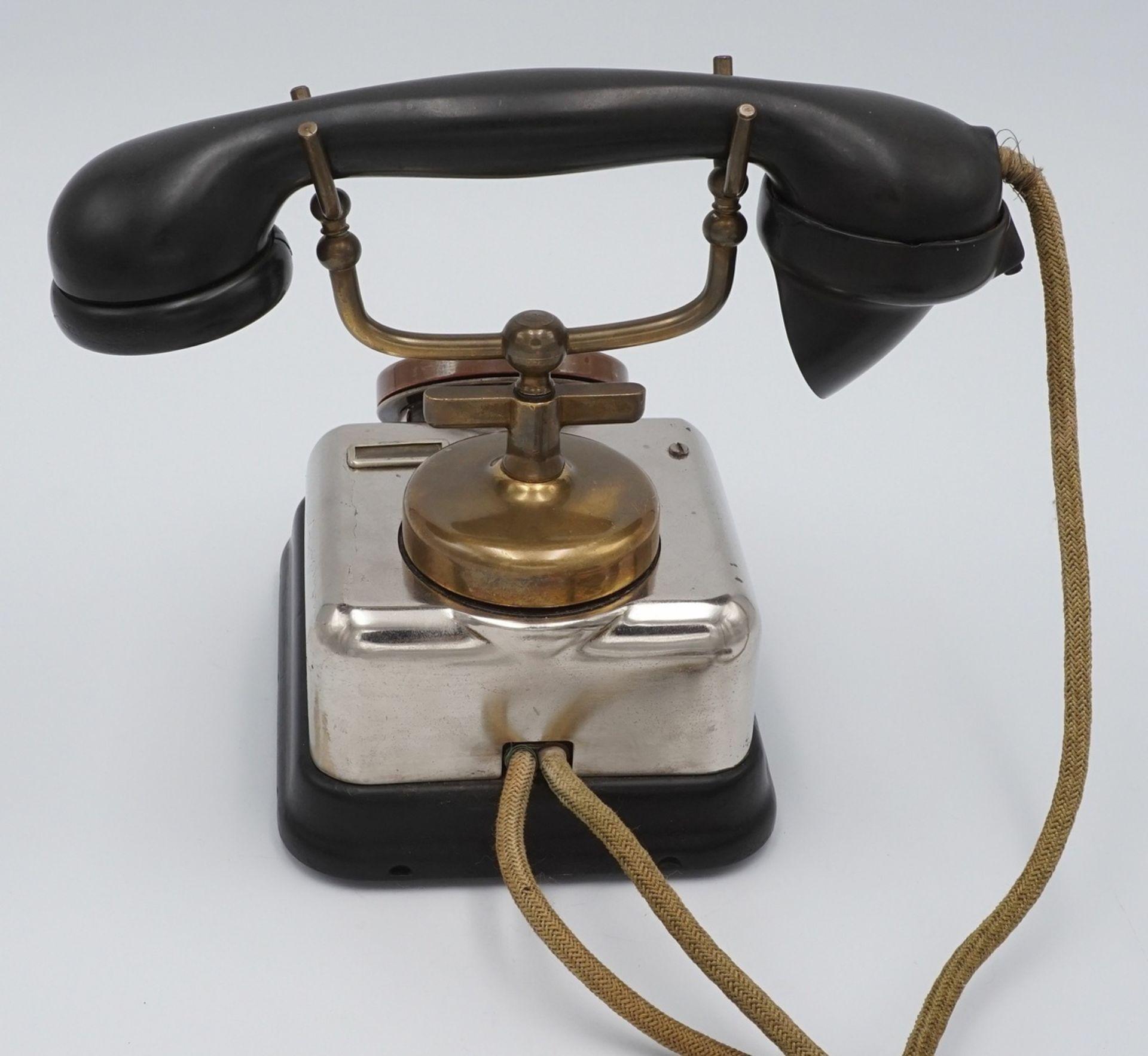 KTAS dänisches Telefon mit Wählscheibe, um 1930 - Bild 4 aus 4