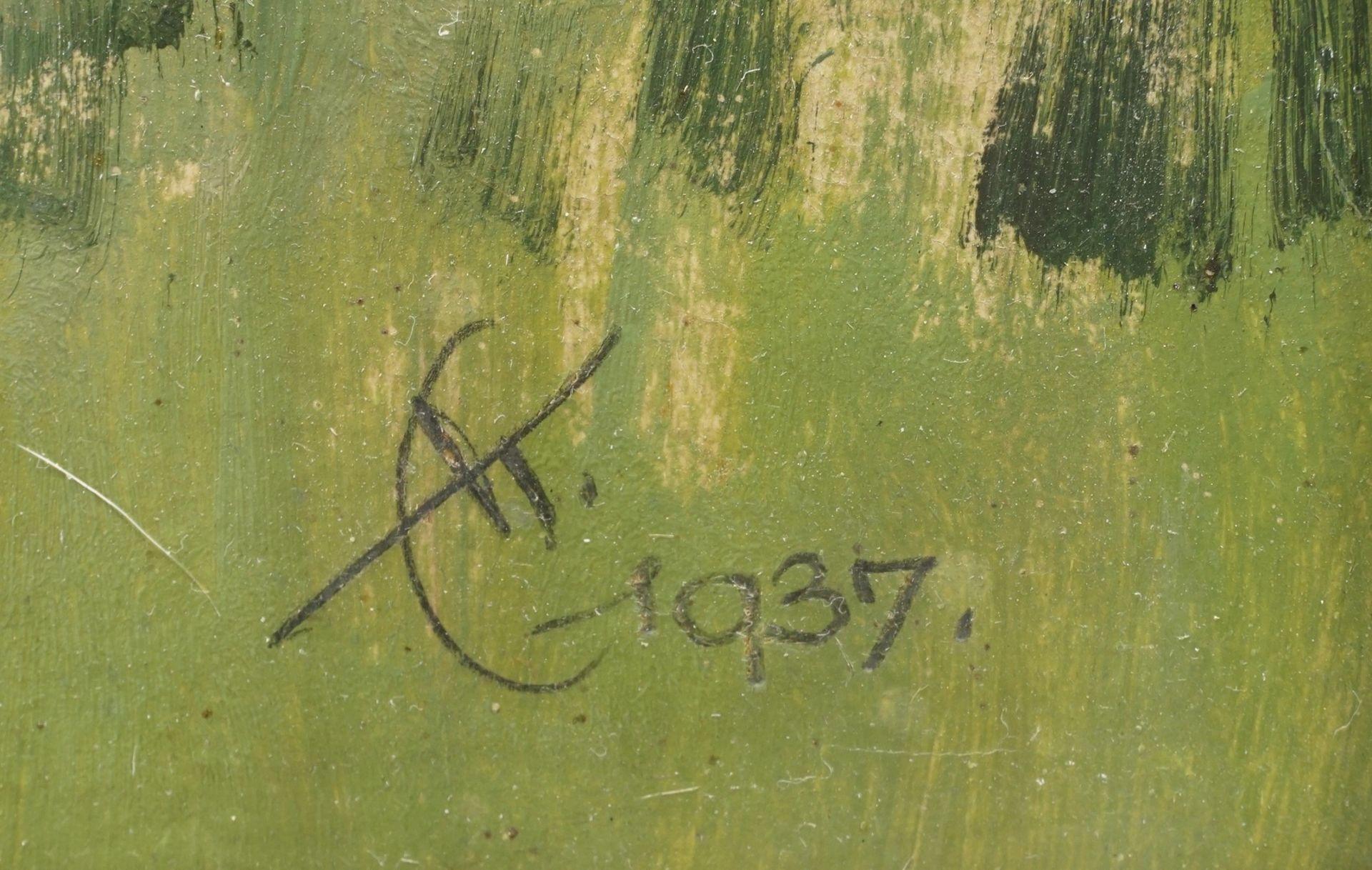 """Erich Kux, """"Altes Forsthaus im Harz"""" - Bild 4 aus 4"""