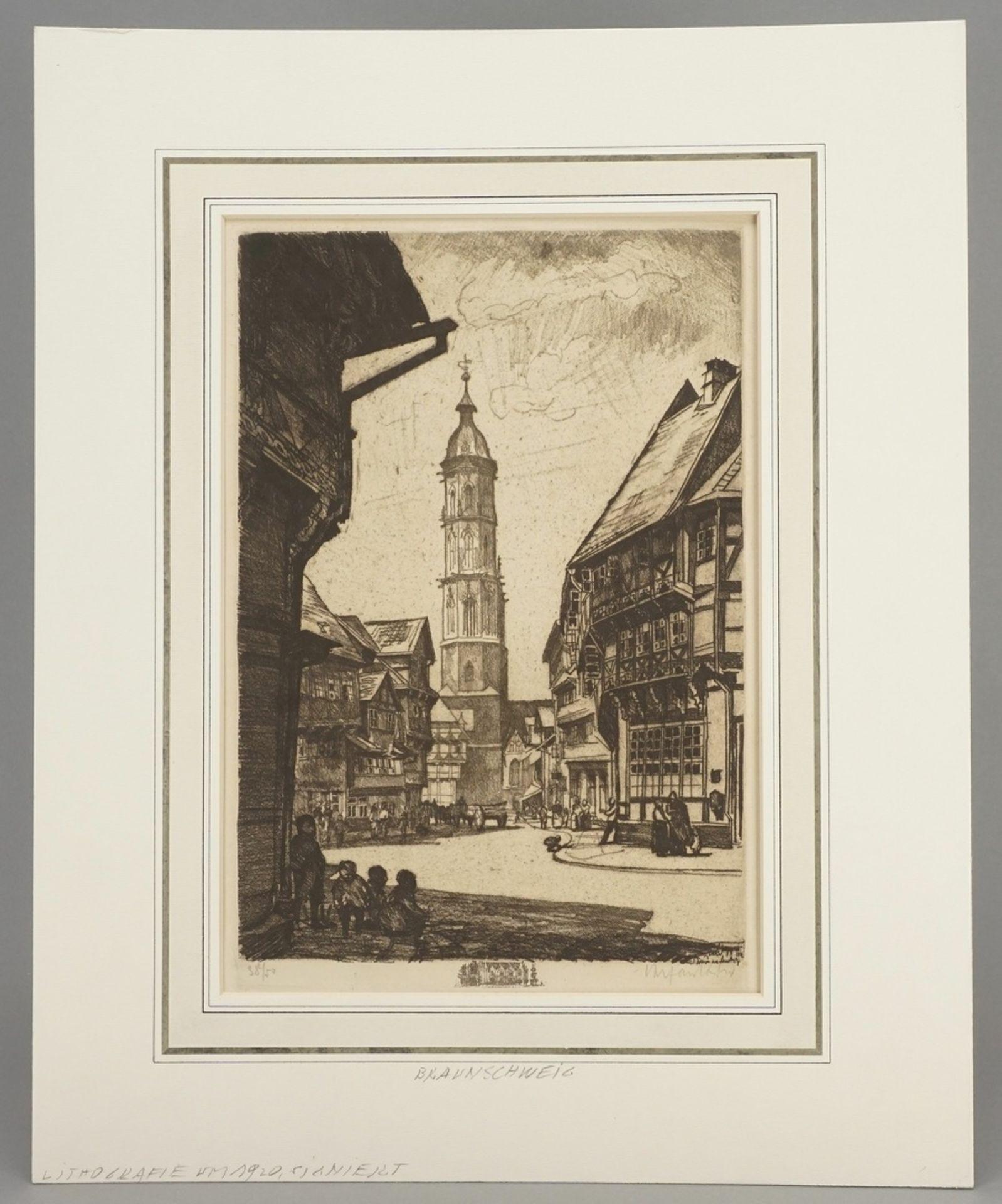 Unbekannter Radierkünstler, Sankt Andreas in Braunschweig - Bild 2 aus 4