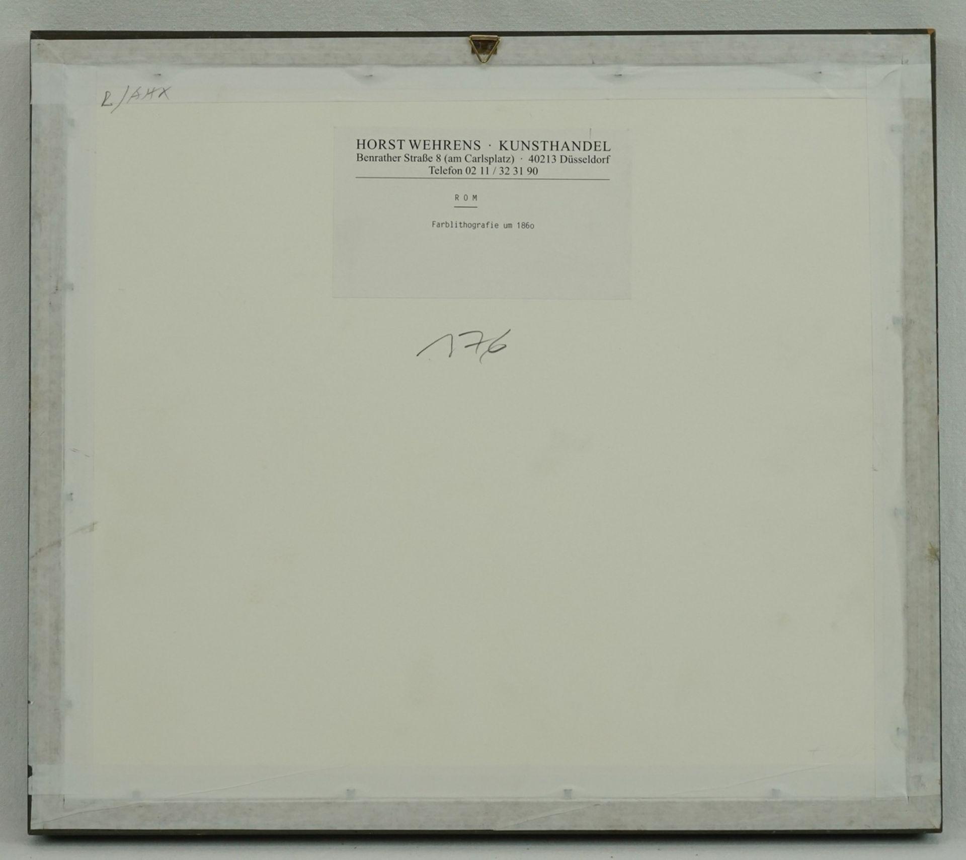 """Unbekannter Künstler, """"Rom"""" - Bild 3 aus 3"""