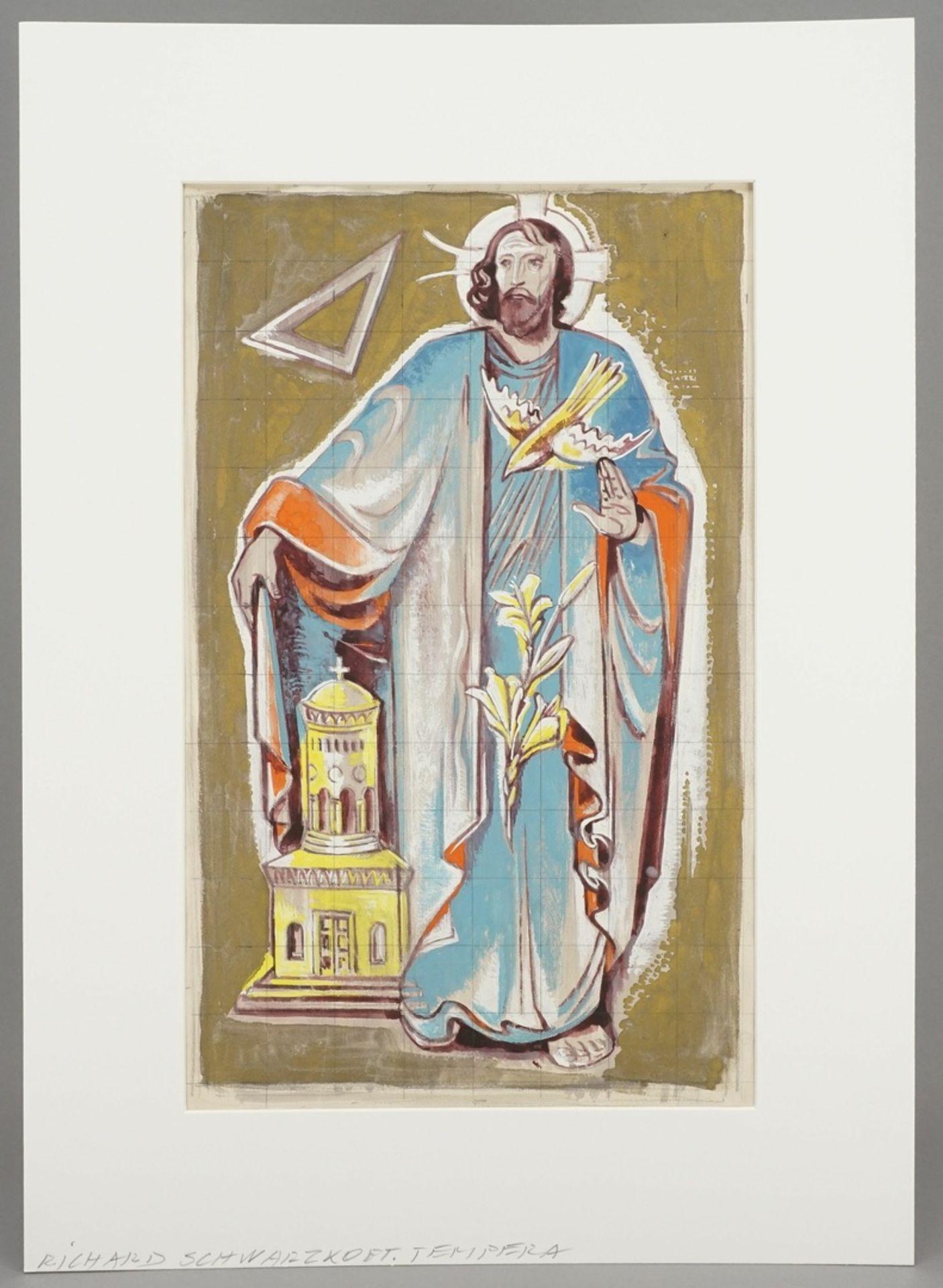 """Richard Schwarzkopf, """"Die heilige Dreifaltigkeit"""" - Bild 2 aus 4"""