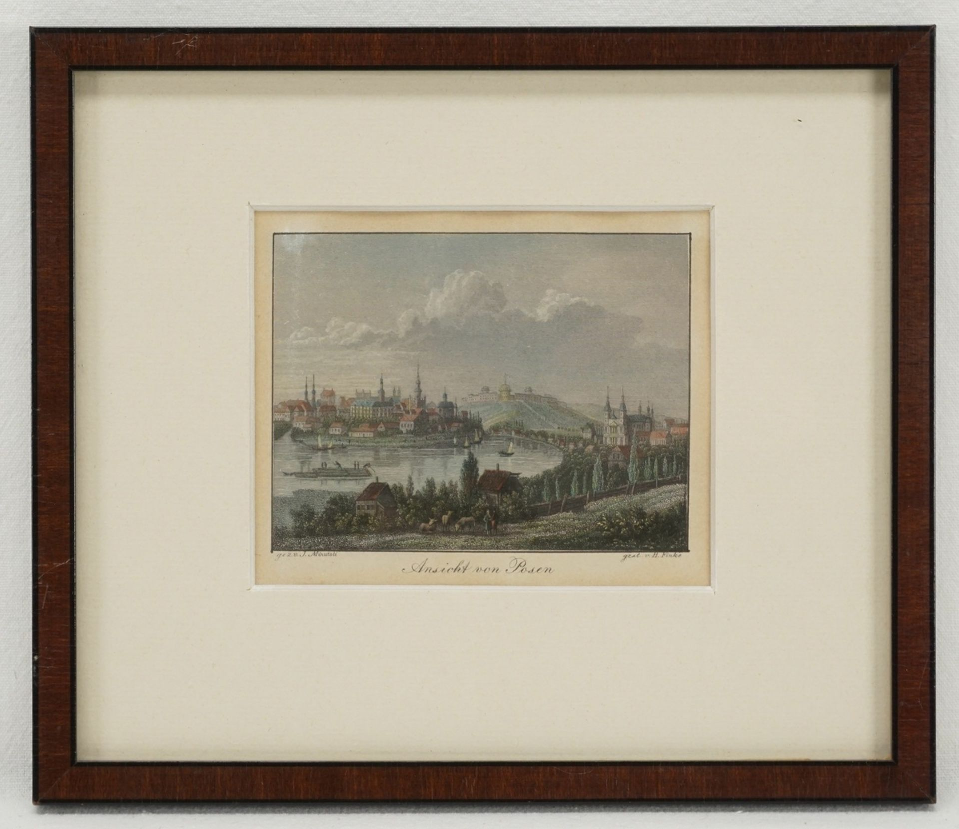 Posen und Breslau - drei Ansichten - Bild 2 aus 4