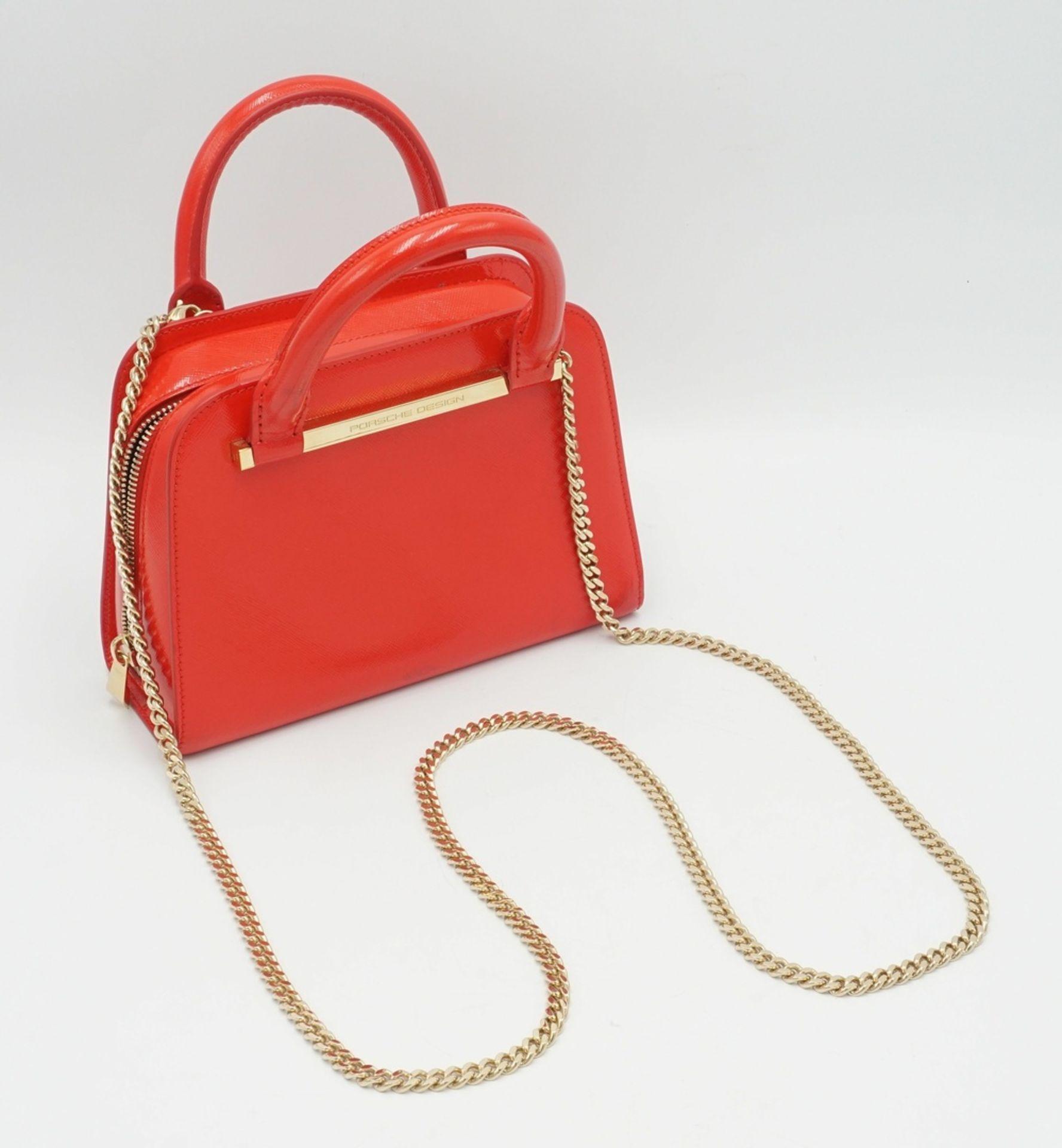 PORSCHE Design TwinBag Mini RED GOLD - Bild 5 aus 9