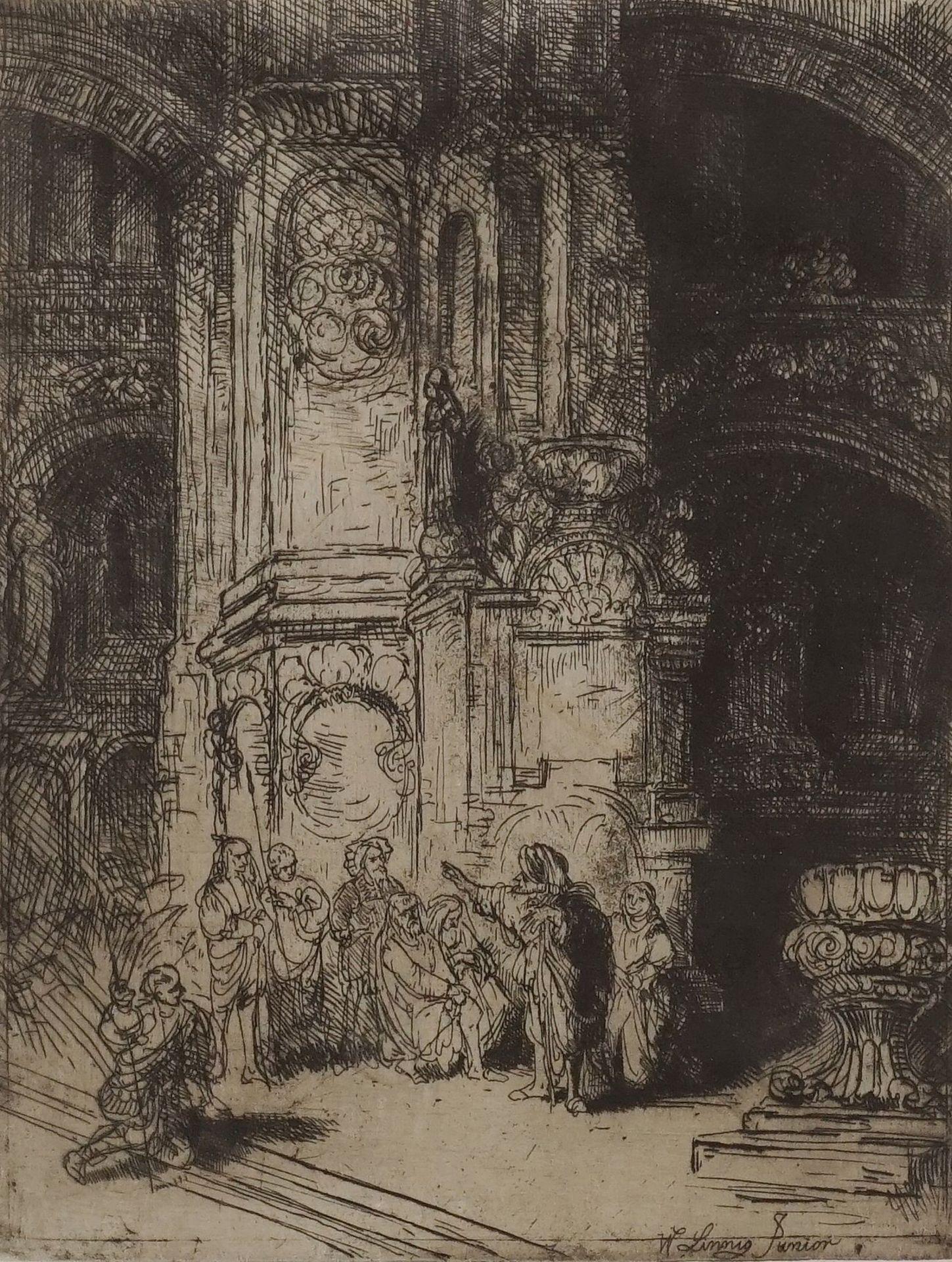 "Willem Linnig der Jüngere, ""In der Kathedrale"""