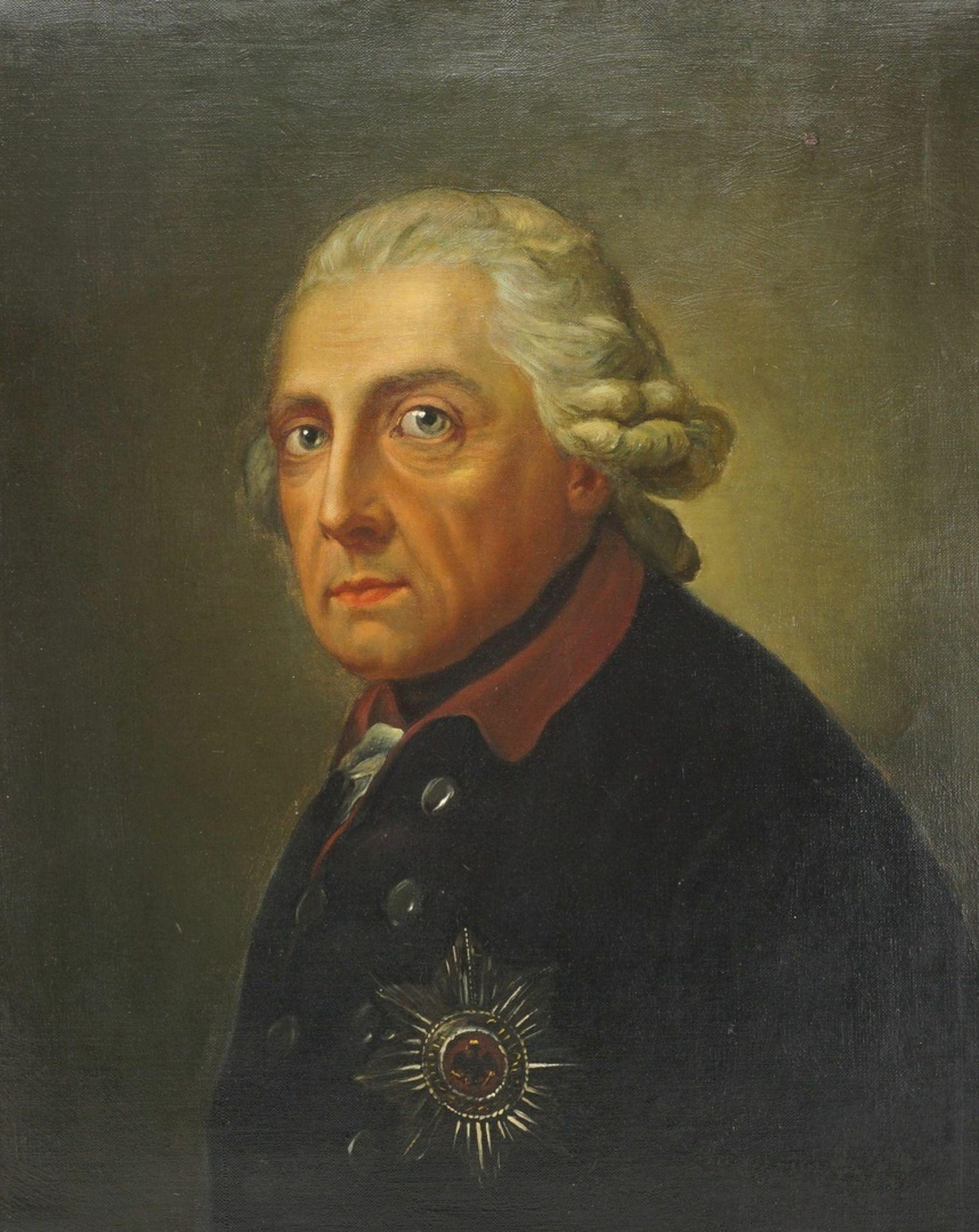 """Anton Graff, """"König Friedrich II. von Preußen (1712-1786)"""""""