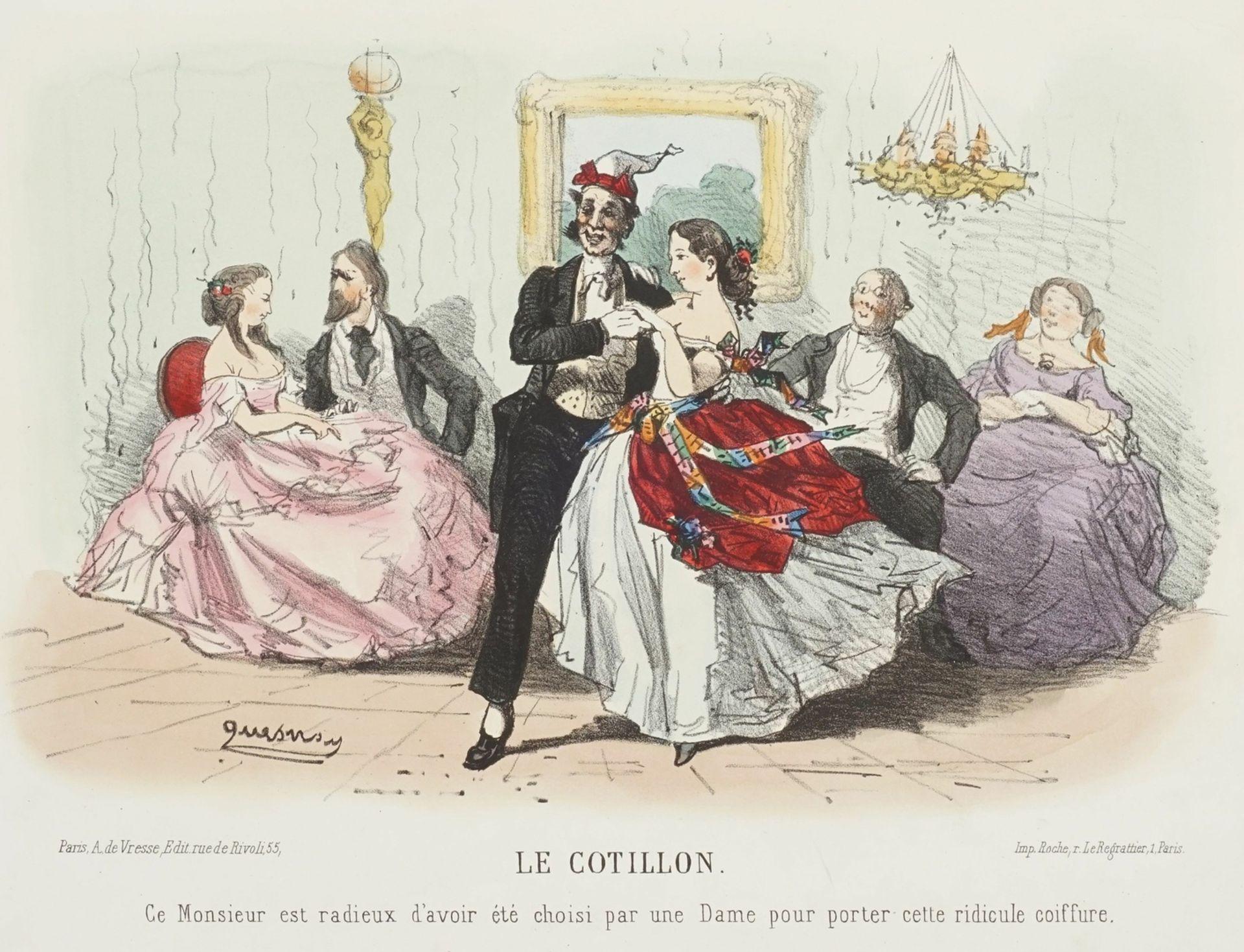 """Alfred Quesnay de Beaurepaire, """"Le Cotillon"""""""