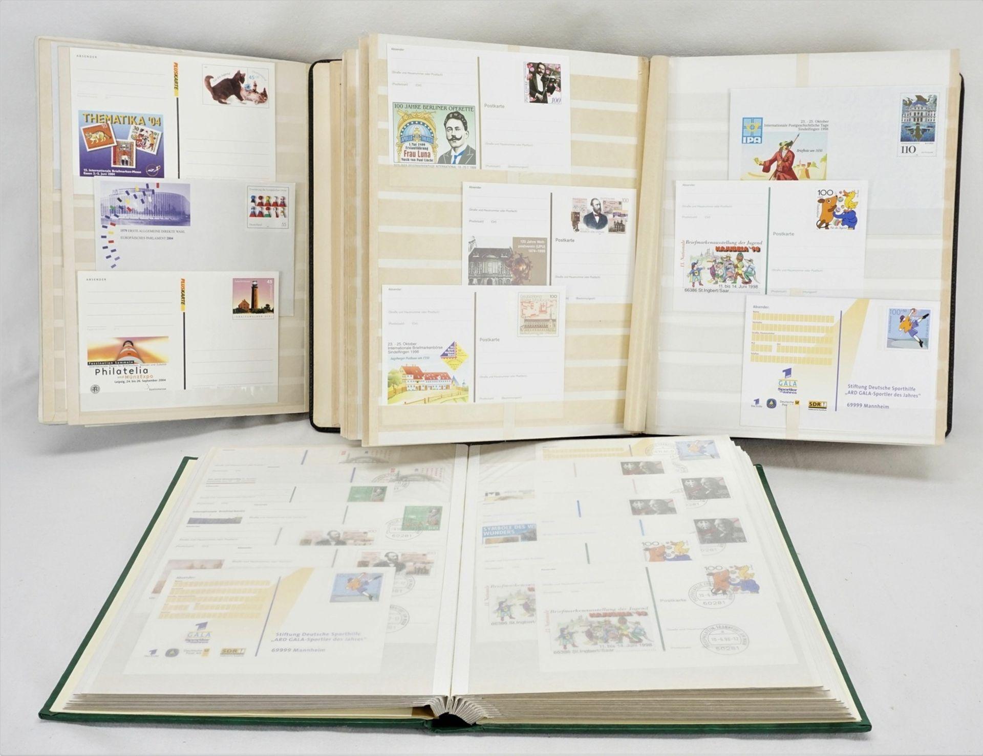 342 Ganzsachen Karten und Briefe BRD