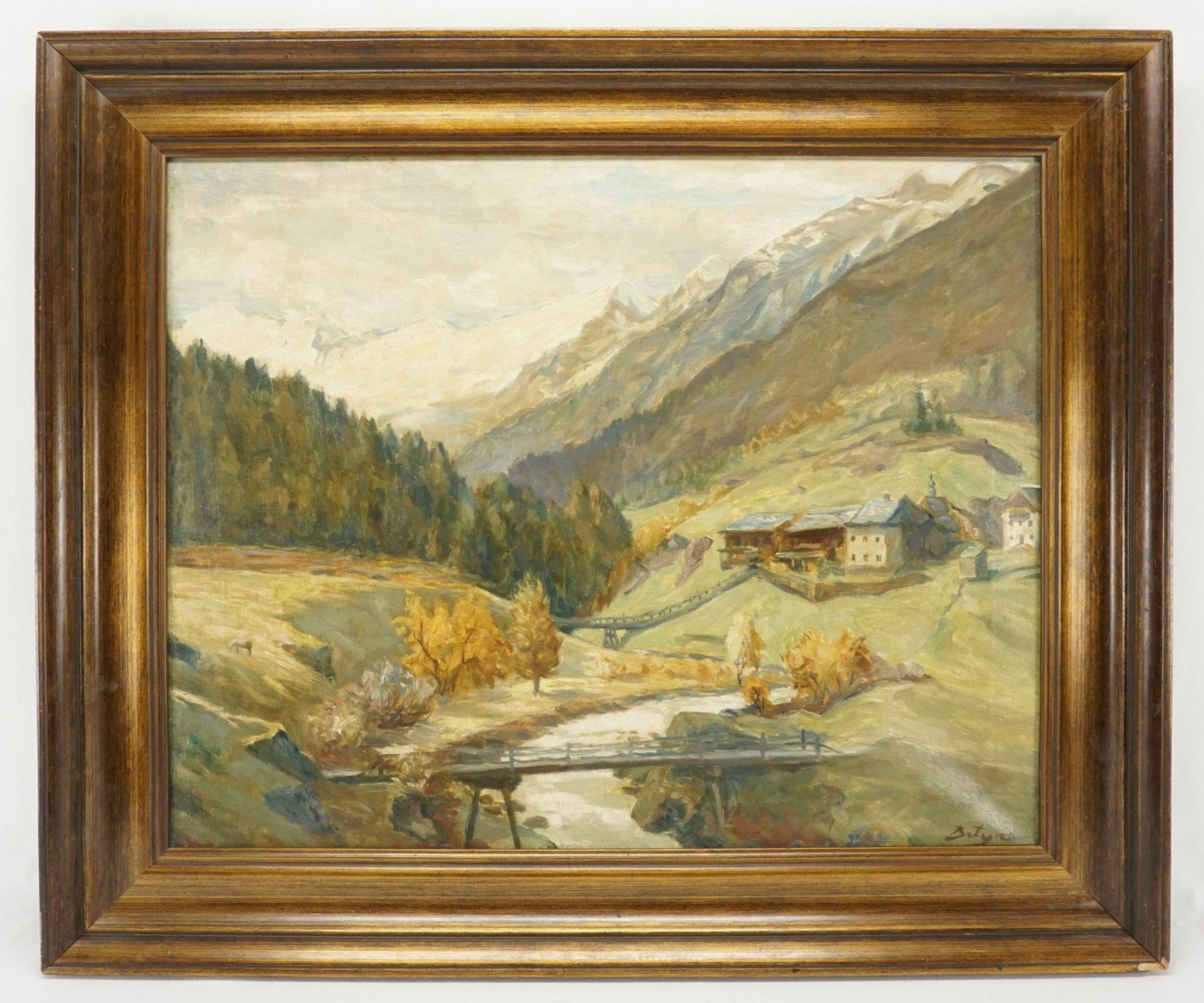 "Paul Betyna, ""Ötztal mit Obergurgl"" - Bild 2 aus 4"