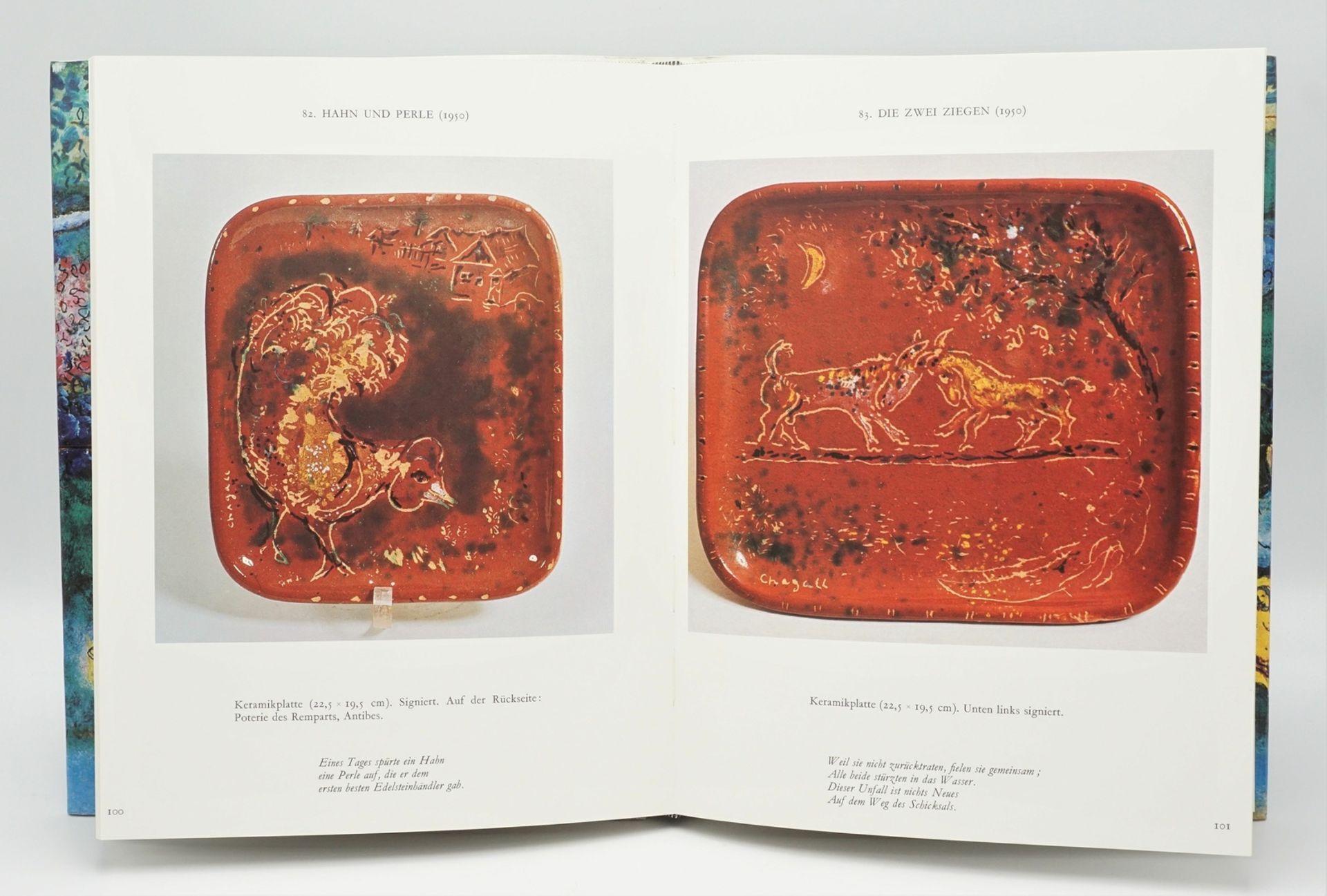 """Charles Sorlier, """"Die Keramiken und Skulpturen von Chagall"""", mit einer Originallithografie - Bild 4 aus 4"""