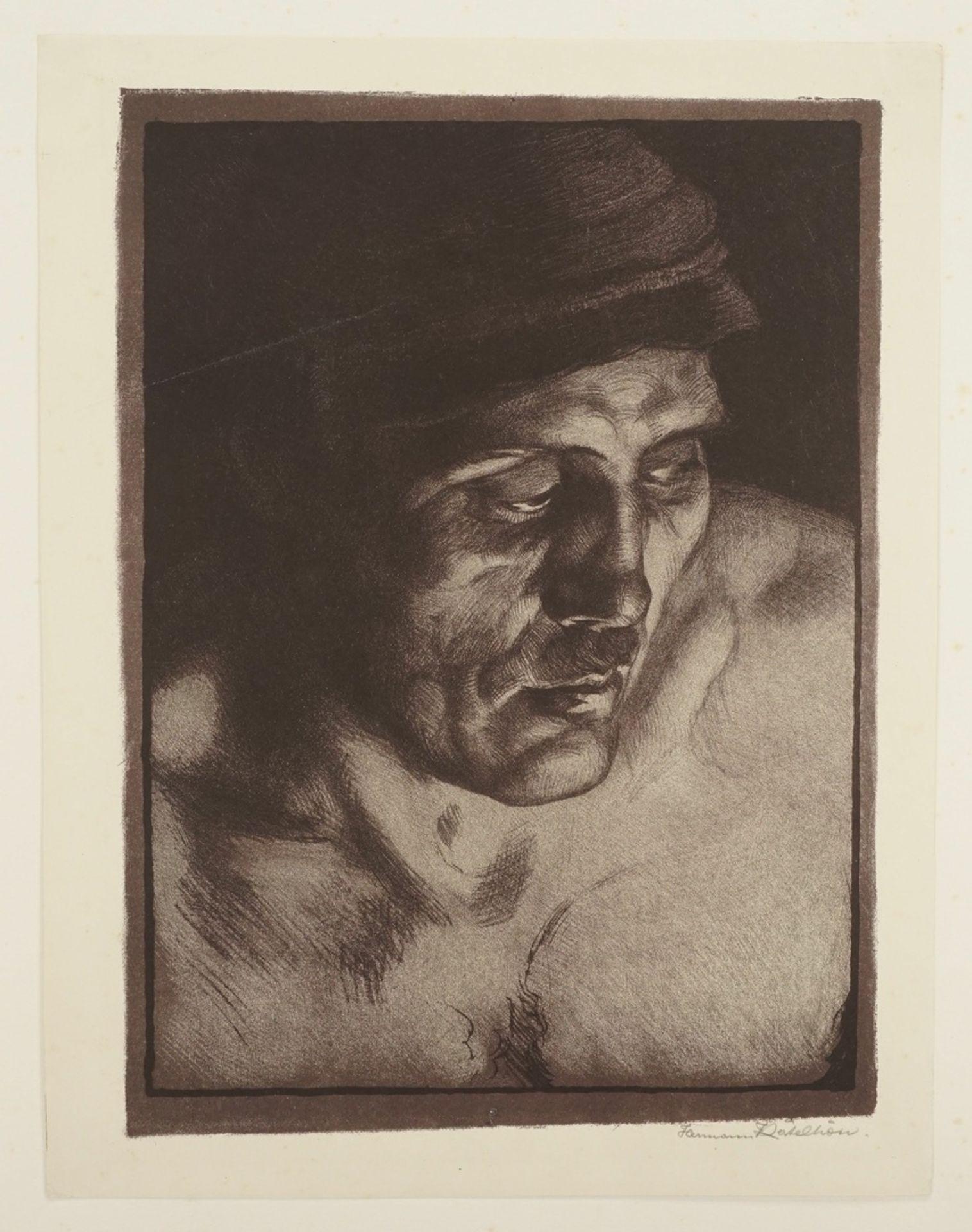 Hermann Kätelhön, Arbeiter im Feuerschein - Bild 3 aus 4