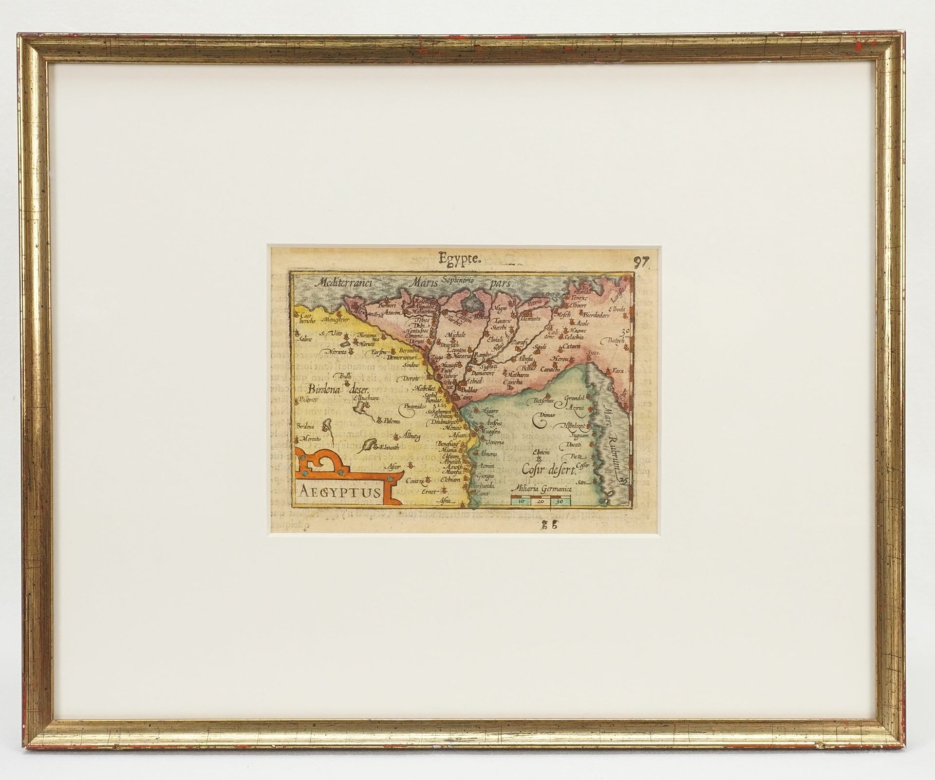 Miniaturlandkarte von Ägypten - Bild 2 aus 2