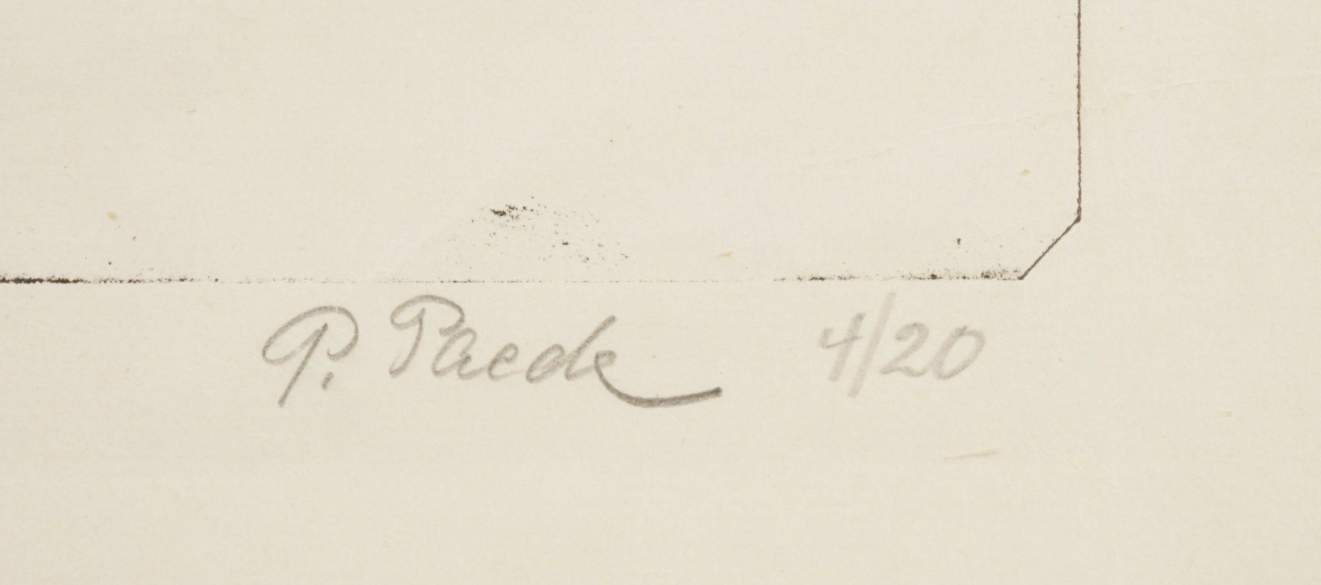 Paul Paede, Sitzender weiblicher Akt, die linke Hand an der Brust - Bild 4 aus 4