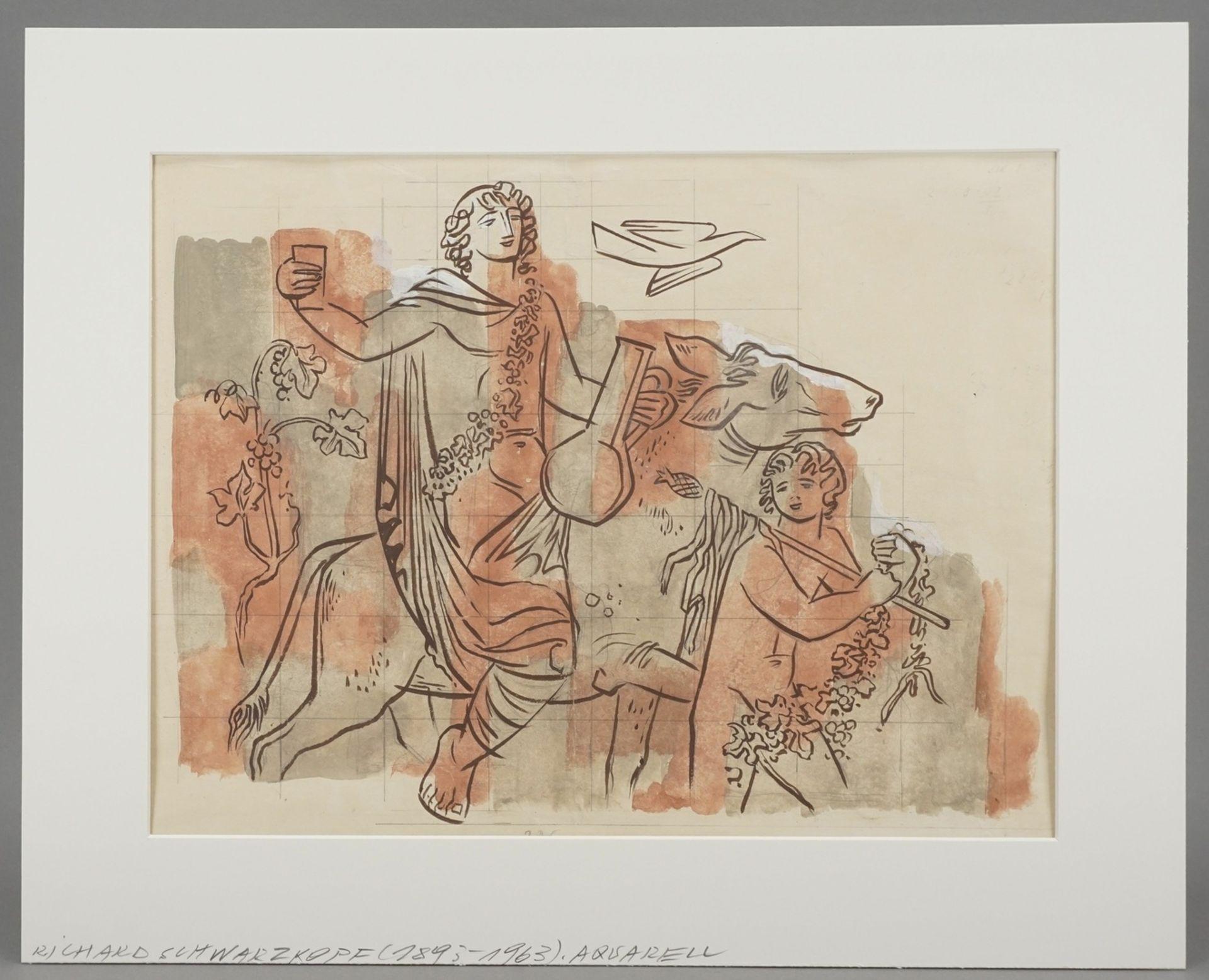 Richard Schwarzkopf, Triumphzug des Bacchus - Bild 2 aus 4