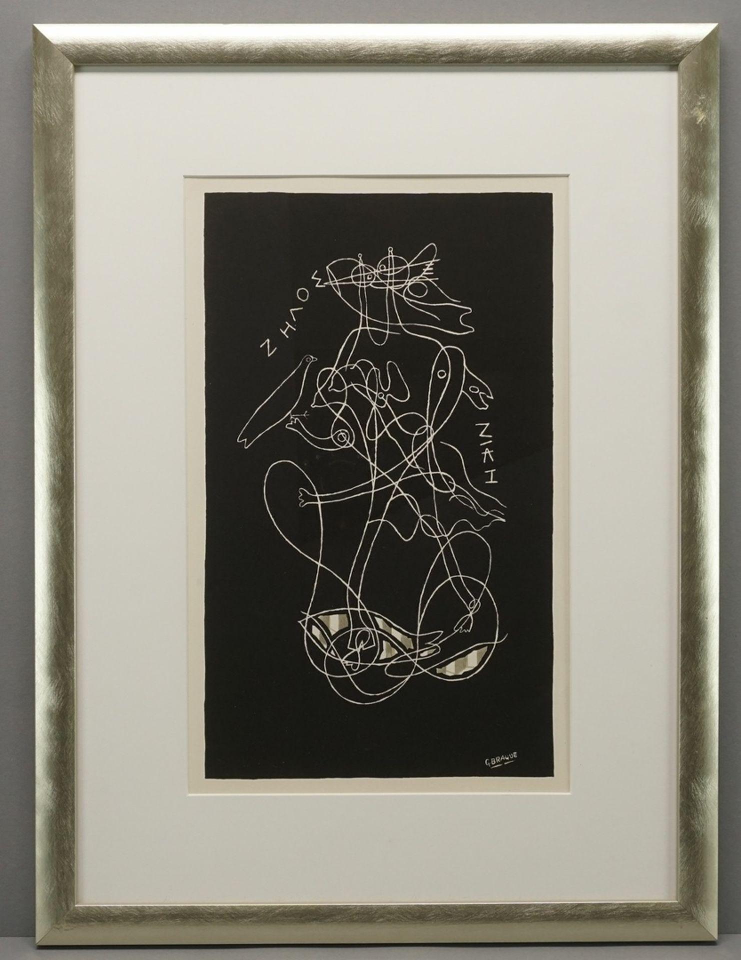 """Georges Braque, """"Zeus und Nike"""" - Bild 2 aus 3"""