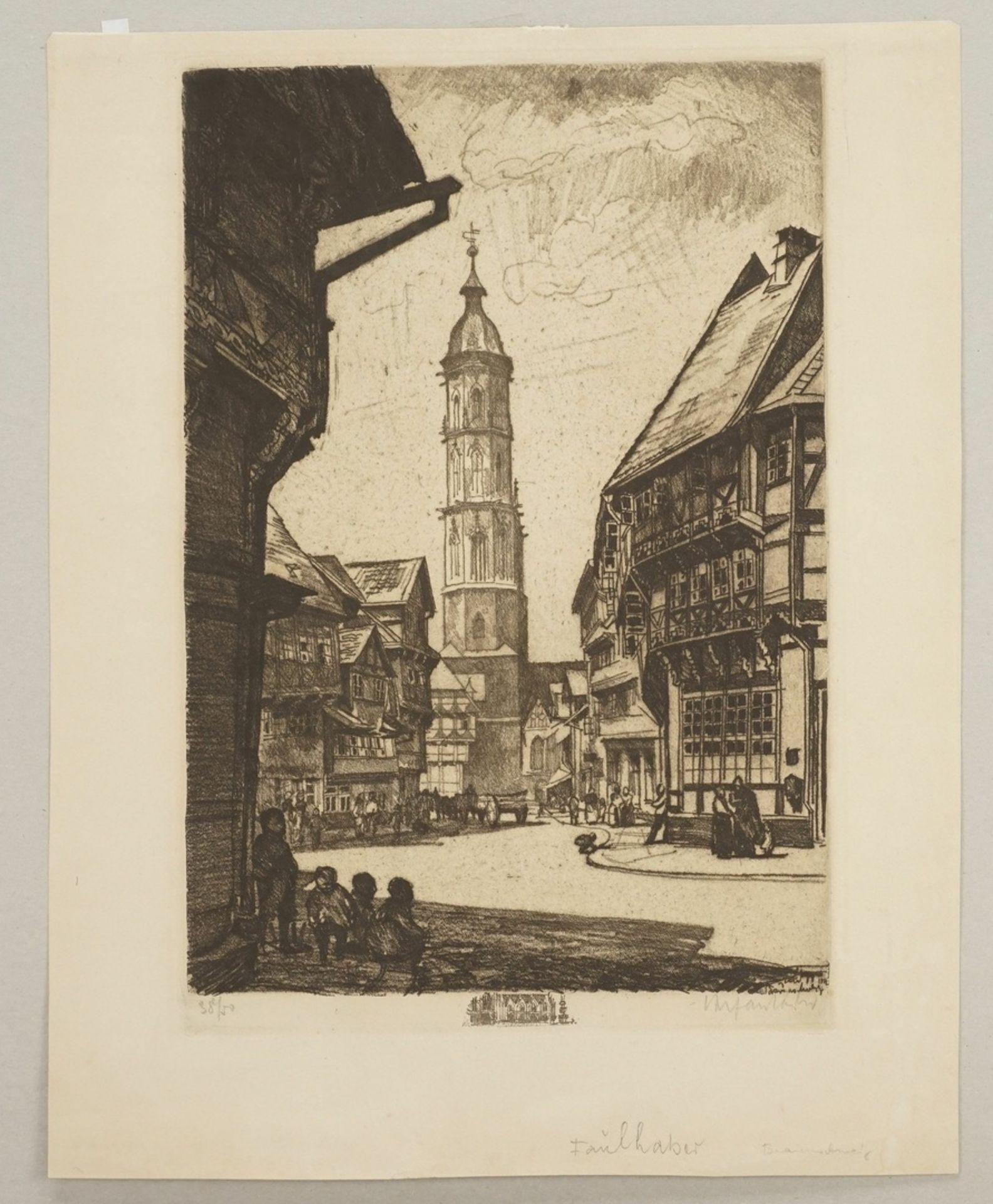 Unbekannter Radierkünstler, Sankt Andreas in Braunschweig - Bild 3 aus 4