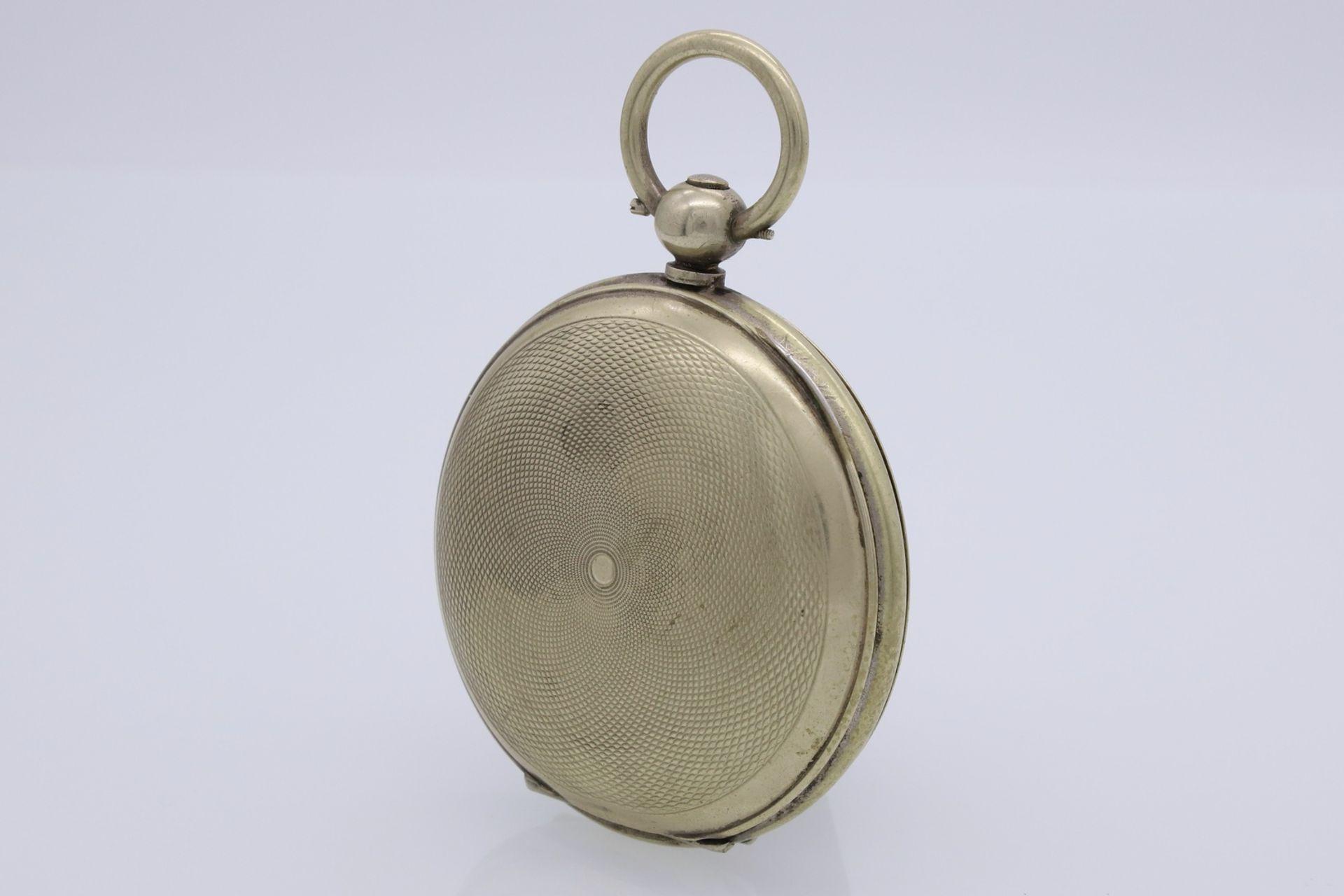Osmanische Savonnette Taschenuhr, Ende 19. Jh. - Bild 4 aus 6