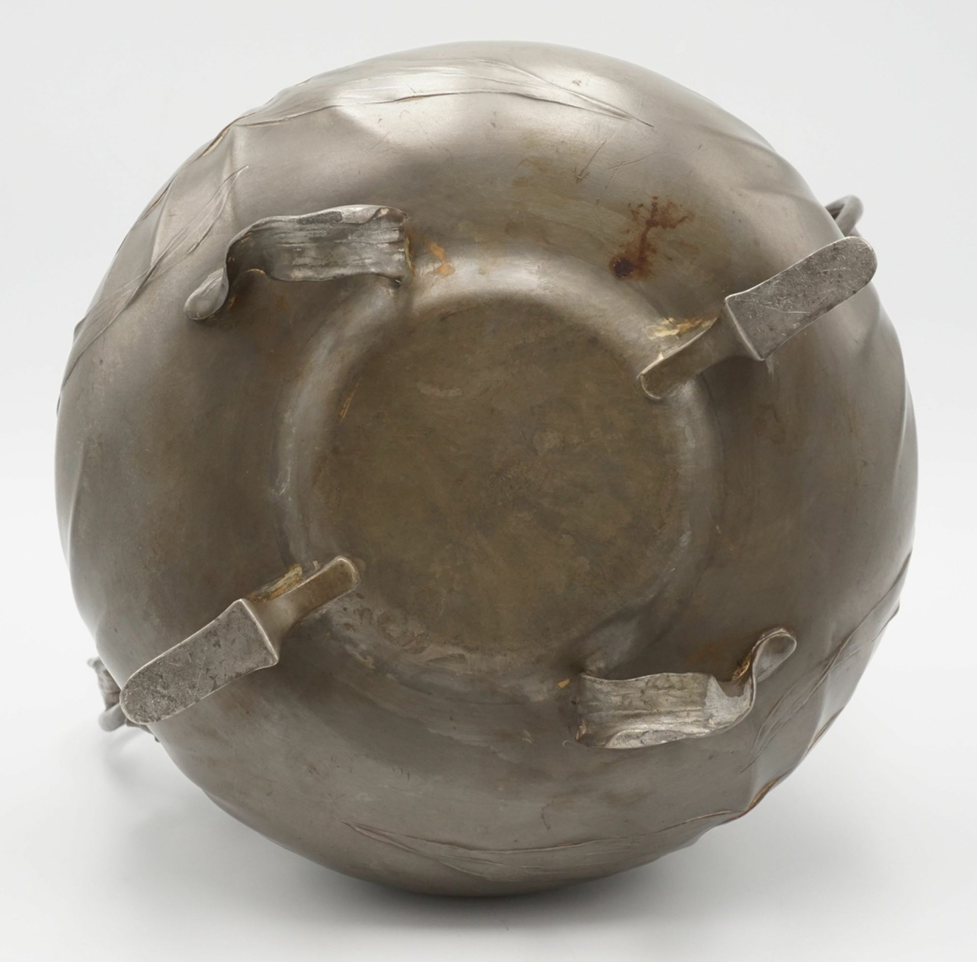 Orivit Bowle mit Deckel, 1889-1926 - Image 3 of 4