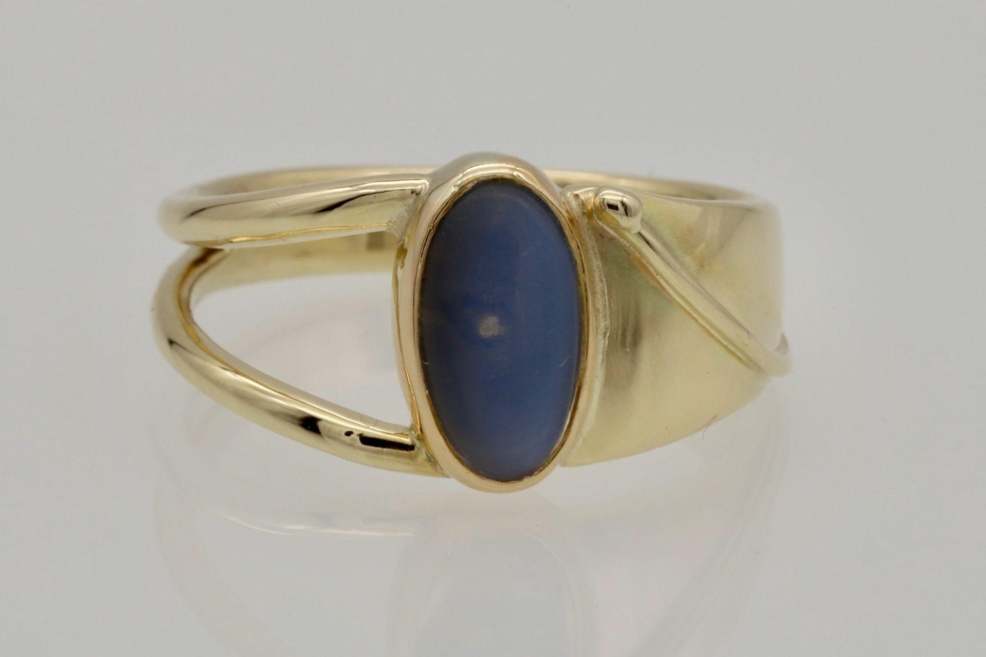Zeitloser Mondstein-Ring - Bild 3 aus 5
