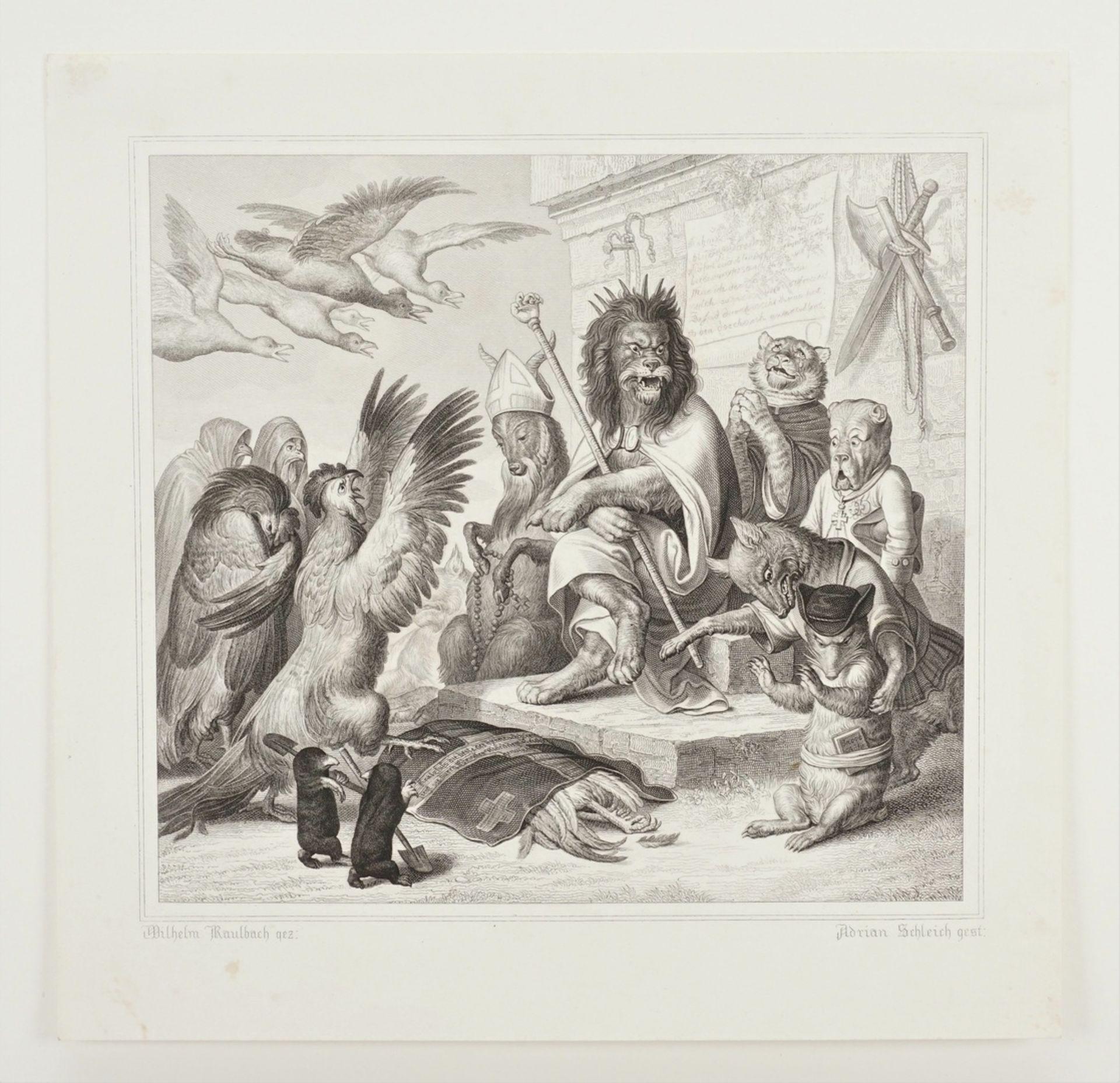 Wilhelm von Kaulbach, Klage über Kratzfuss' Tod - Bild 3 aus 3