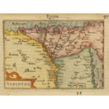 Miniaturlandkarte von Ägypten