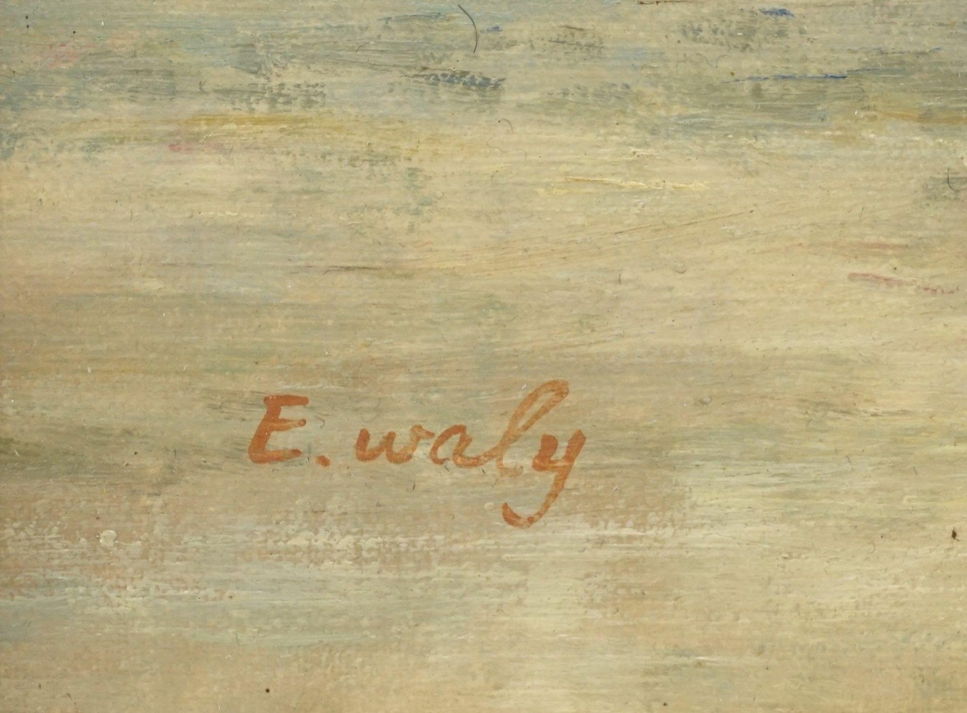 E. Waly, Heuernte am See - Bild 4 aus 4