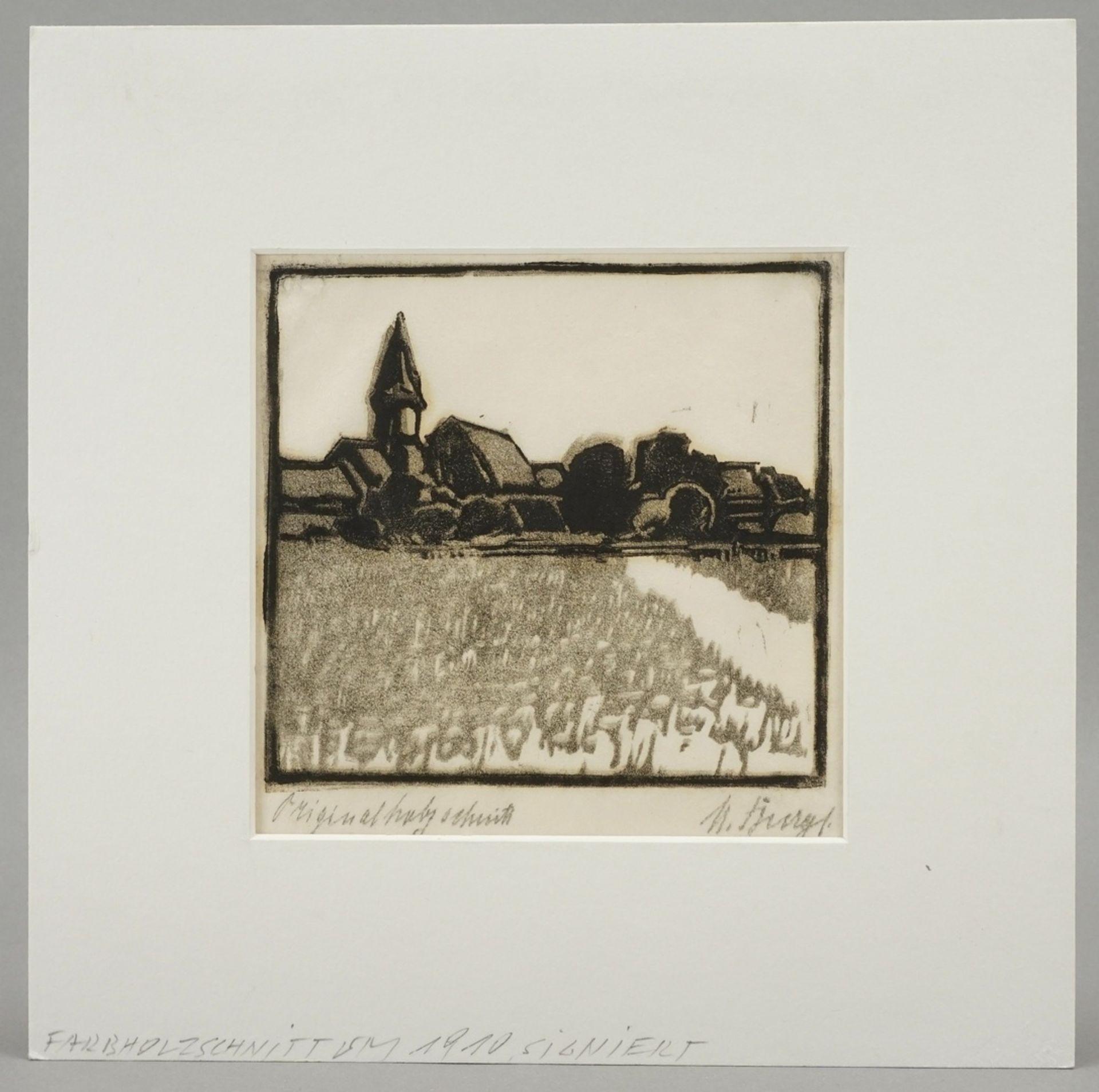 Kleines Dorf mit Kirche - Bild 2 aus 3