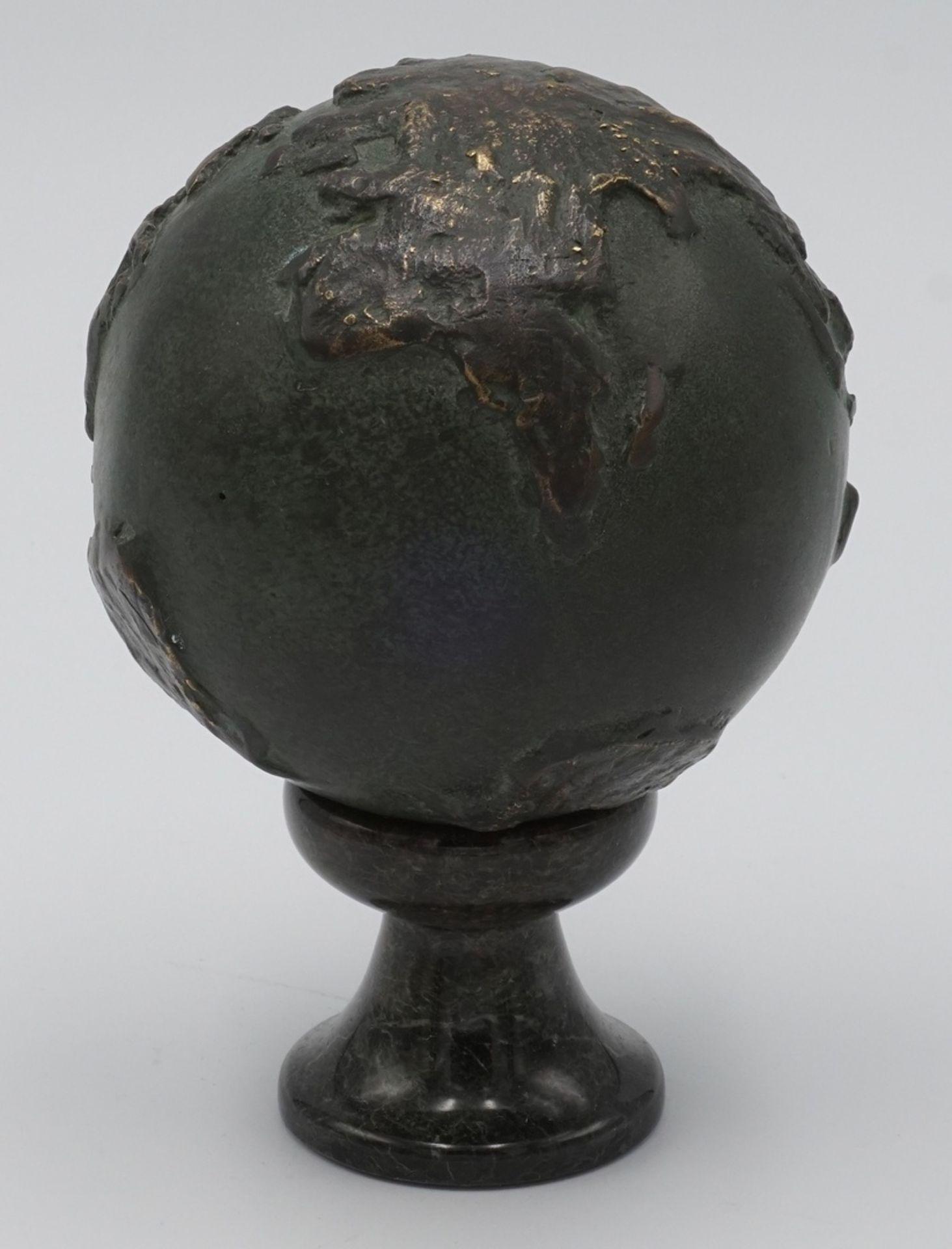 Bronze Weltkugel - Bild 2 aus 2