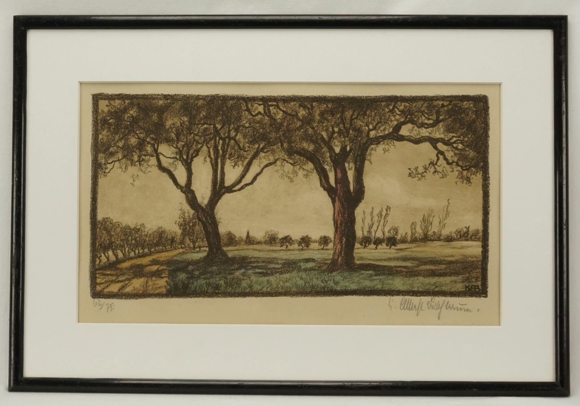 Karl Albrecht Buschbaum, Baum-Paar - Bild 2 aus 4