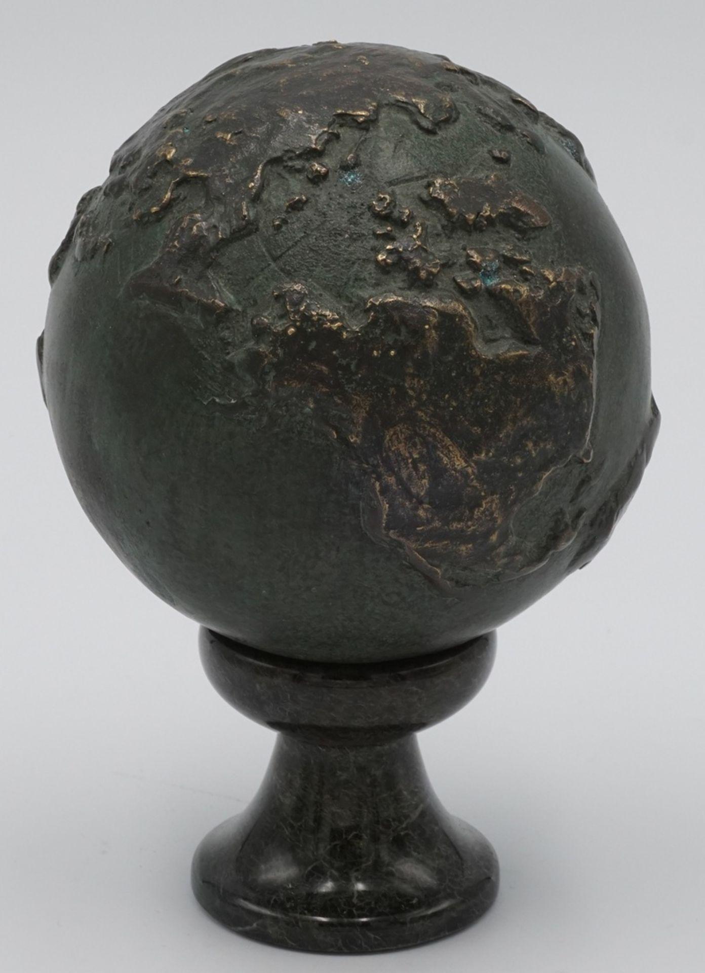 Bronze Weltkugel