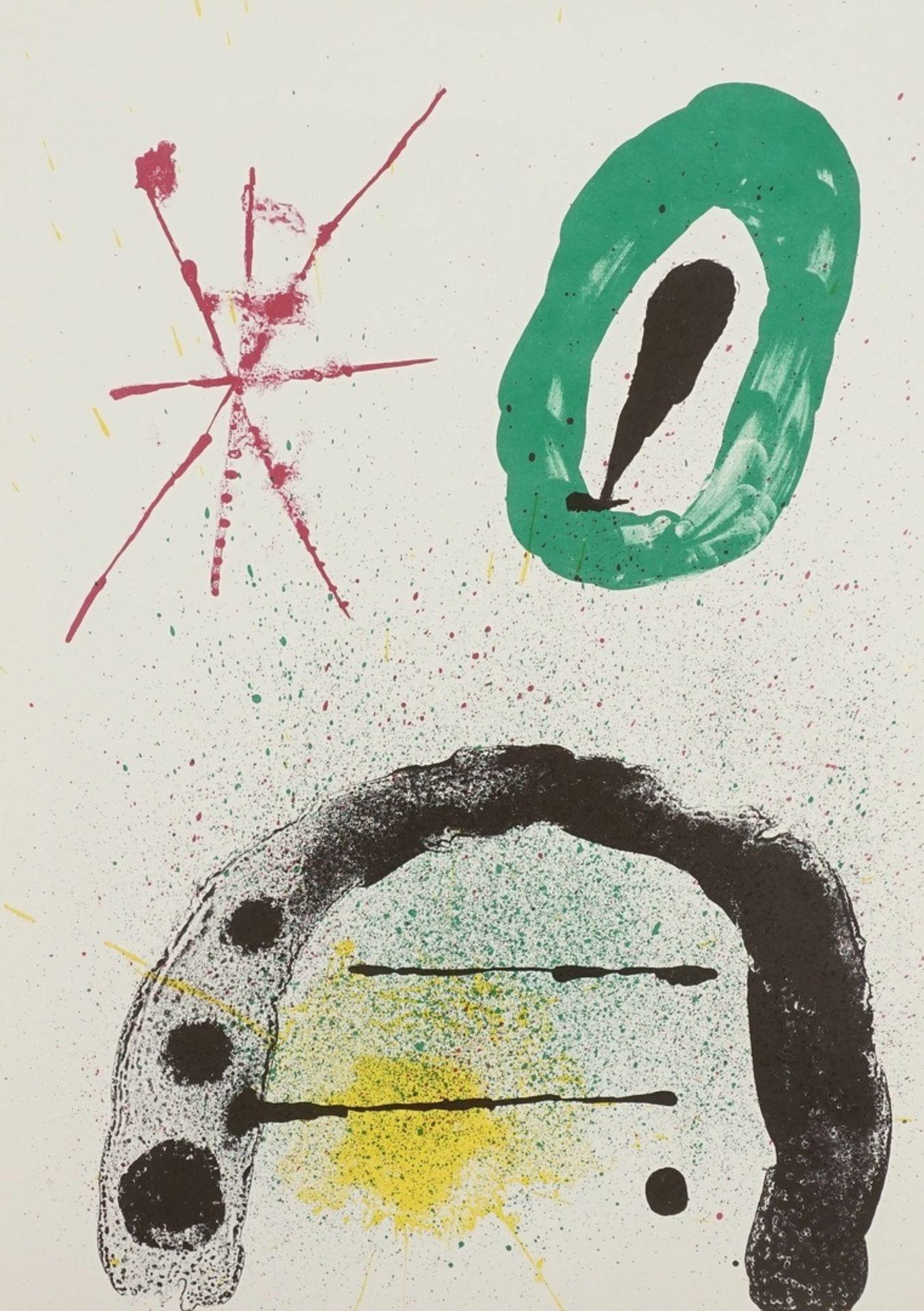 """Joan Miró, """"La fille du Jardinier II"""" (Die Tochter des Gärtners II)"""