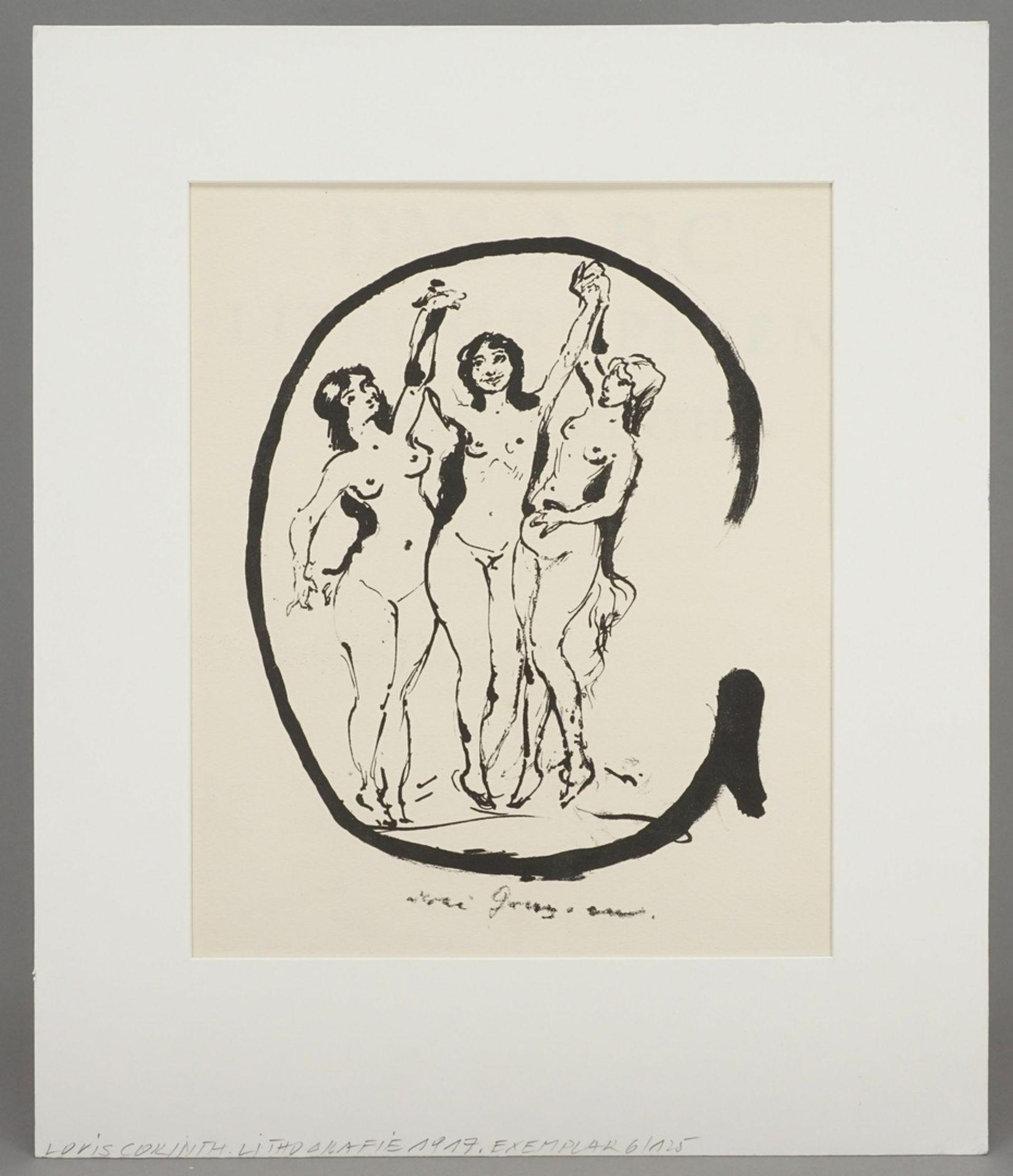 """Lovis Corinth, """"Buchstabe G"""" - Bild 2 aus 3"""