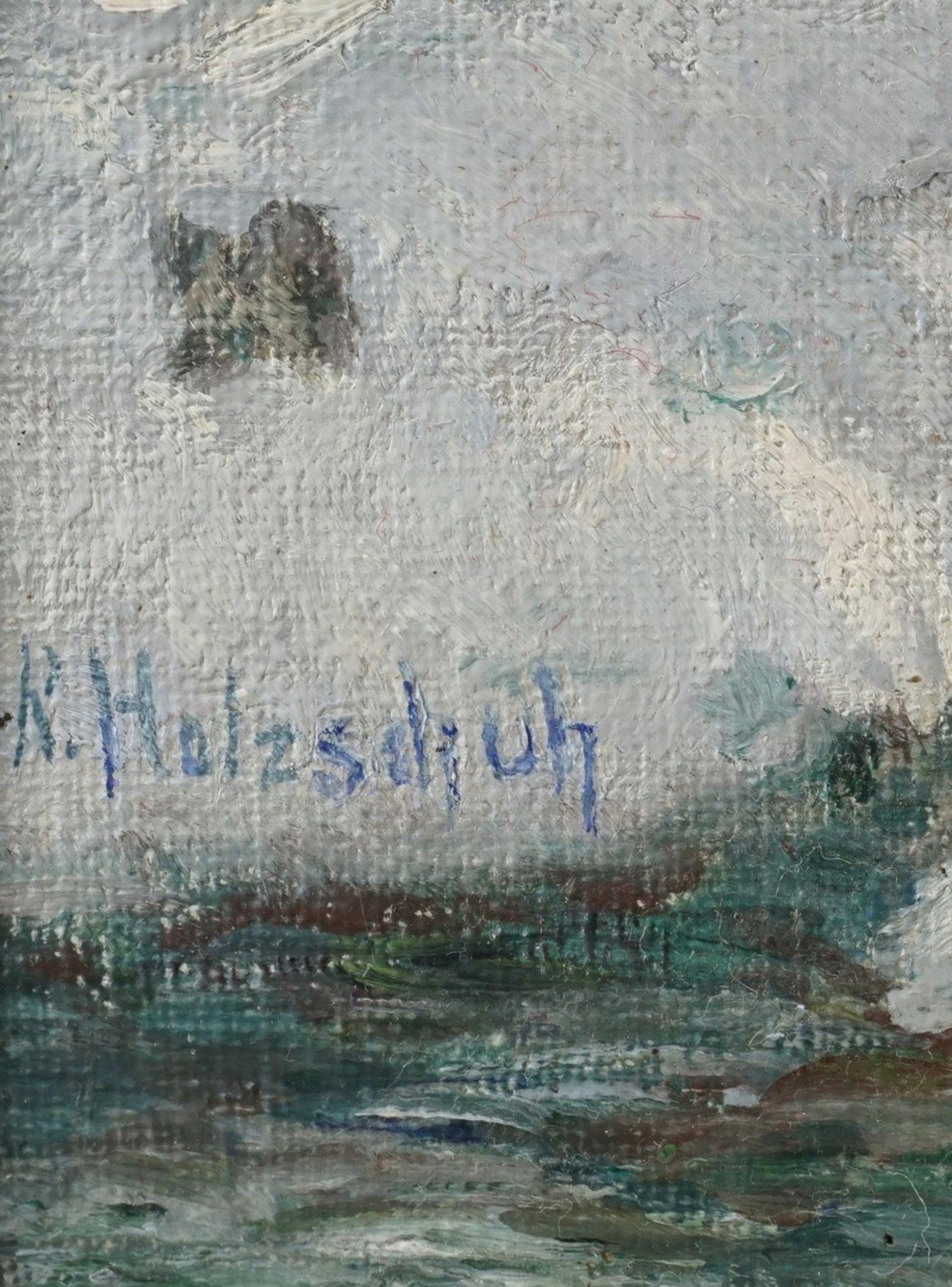 """Rudolf Holzschuh, """"Harz. Festenburg"""" (Winterwald) - Bild 4 aus 4"""