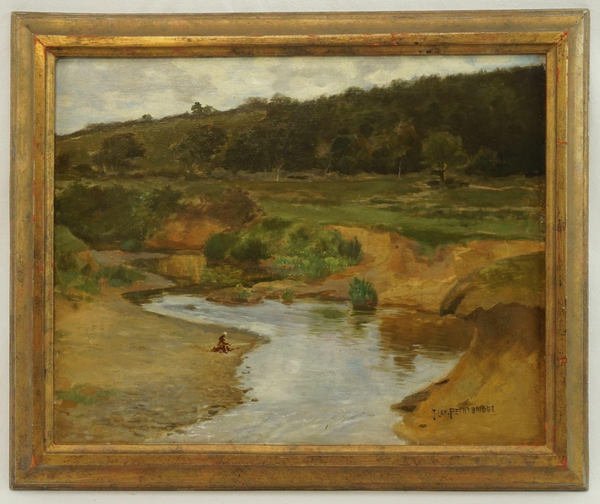 "John Ley Pethybridge, ""Am Flussufer"" - Bild 2 aus 4"