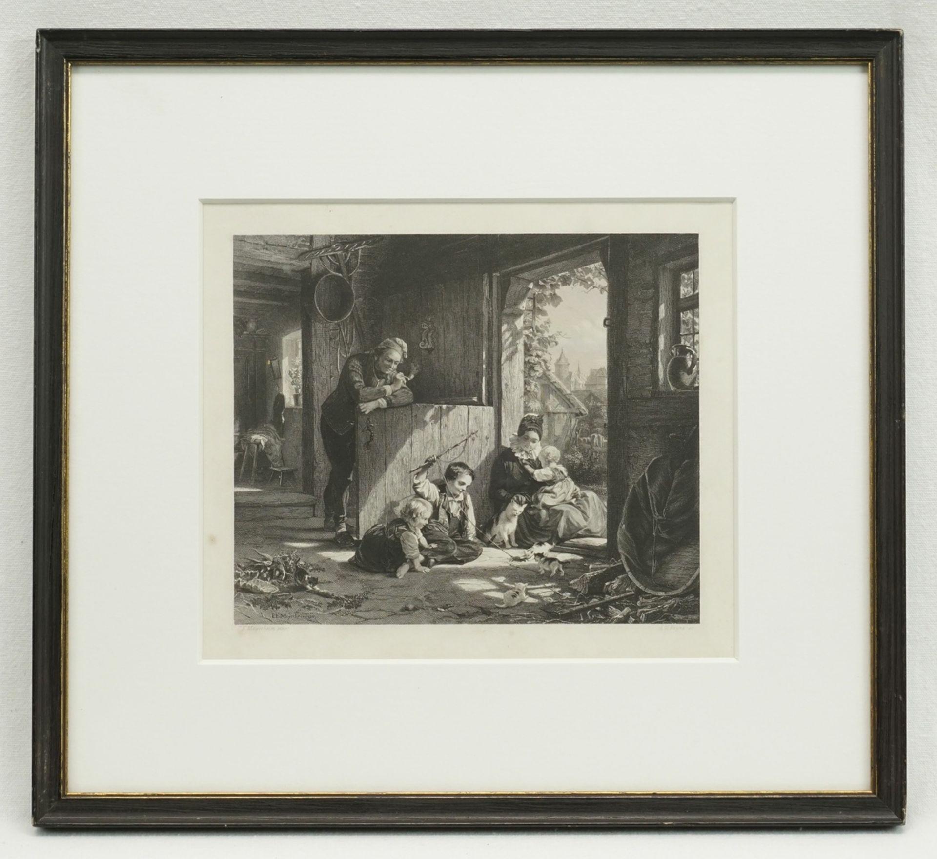 Albert Henry Payne, Katzenspiele - Bild 2 aus 2