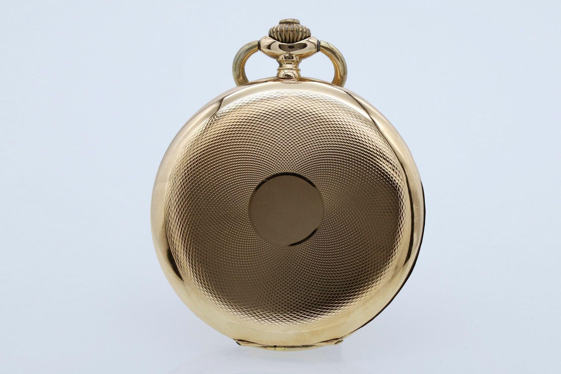 Silvana goldene Savonnette / Taschenuhr, um 1920 - Bild 2 aus 5