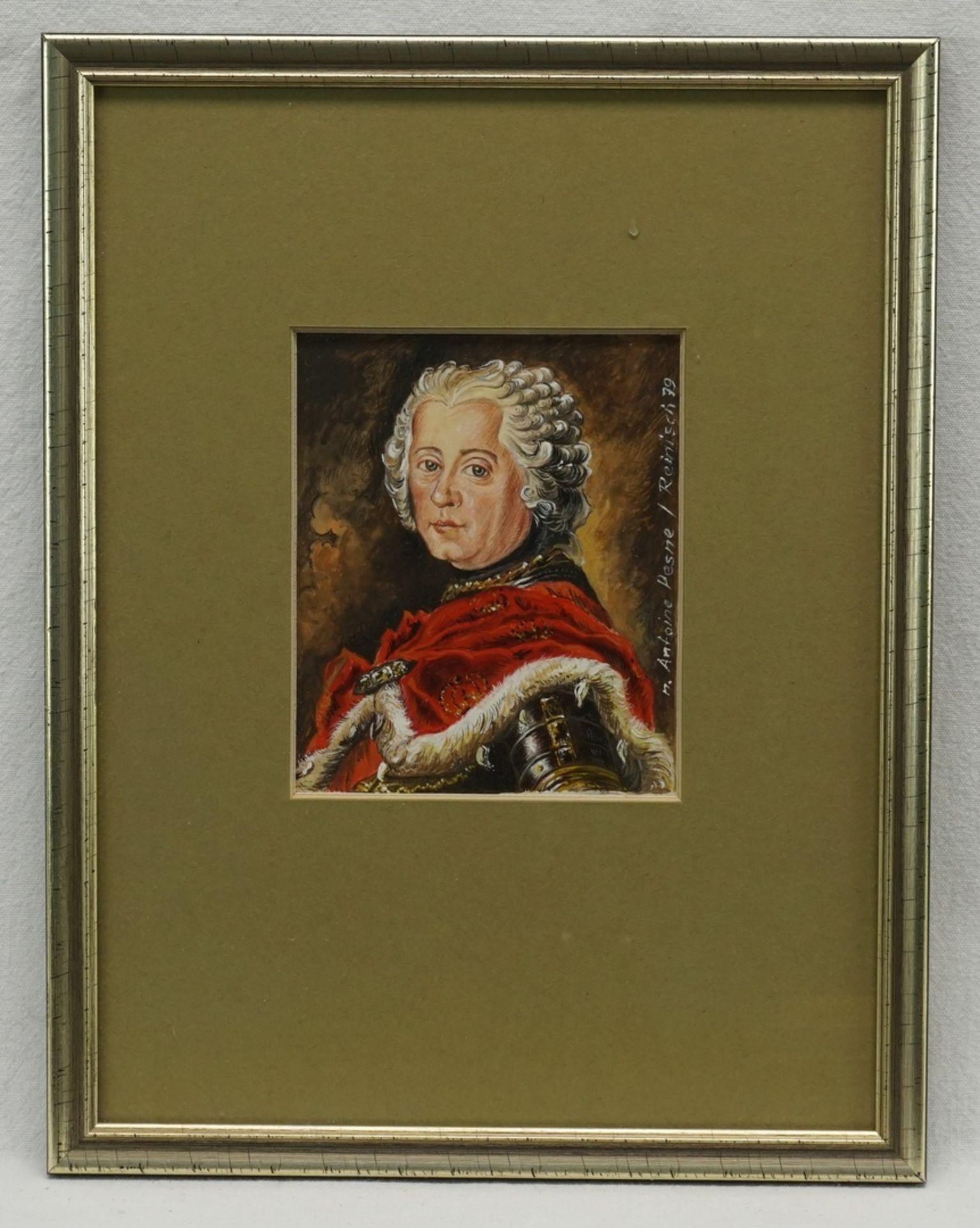 Rudolf Reinisch, Sechs Miniaturbilder - Bild 3 aus 4