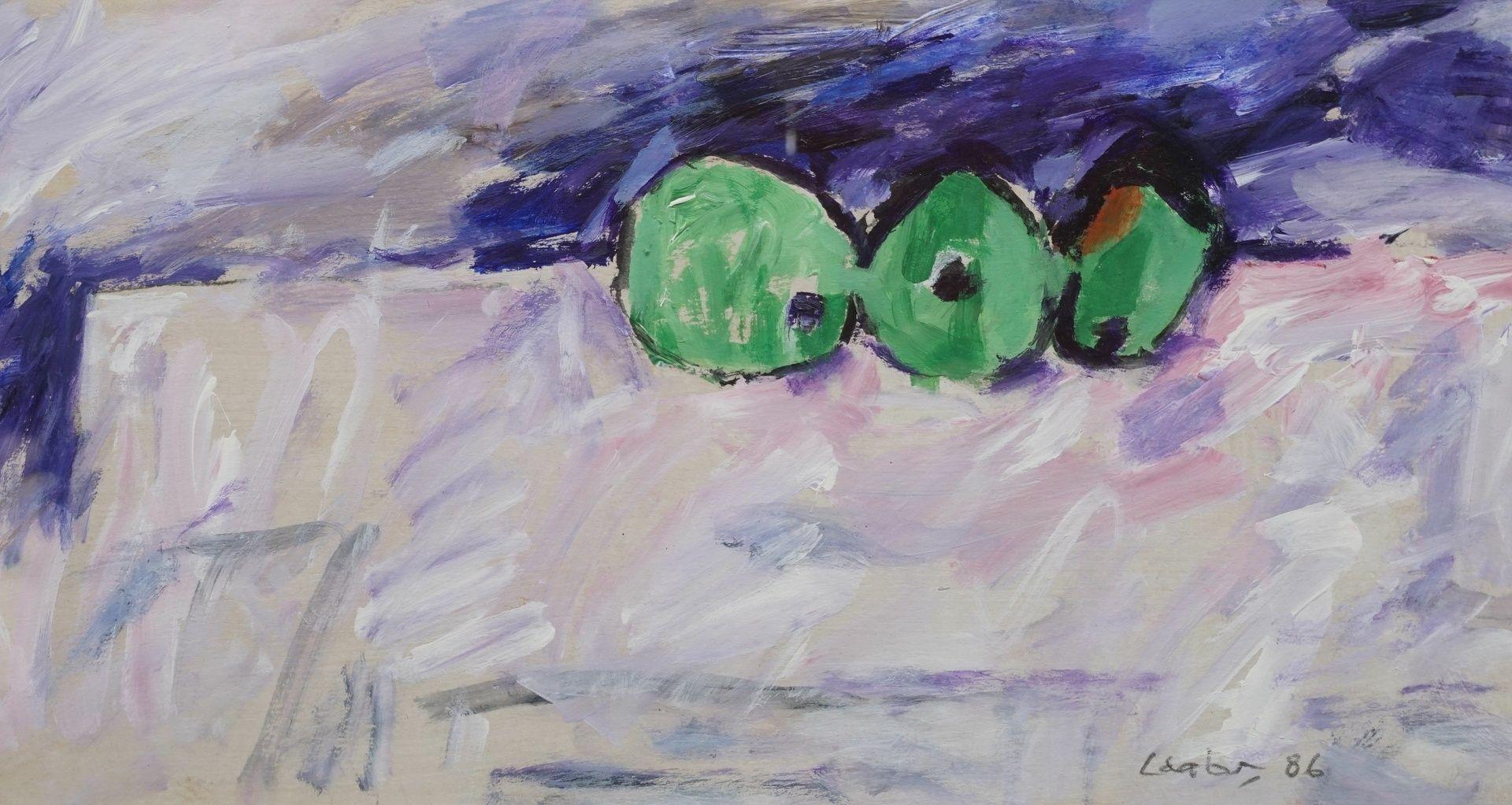 Hans Laabs, Drei grüne Äpfel