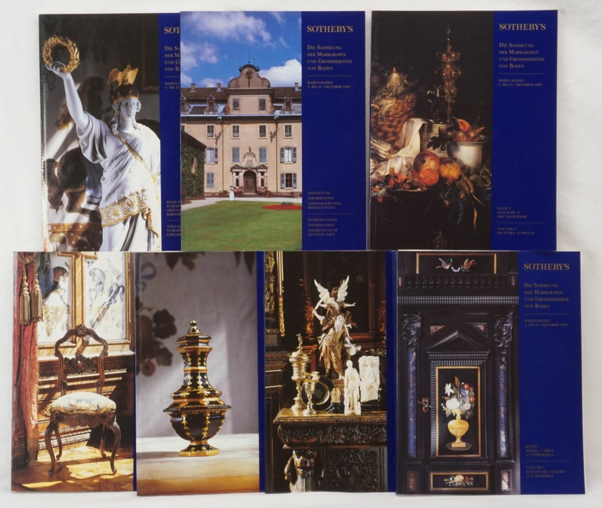 """Sothebys, """"Die Sammlung der Markgrafen und Großherzöge von Baden"""""""