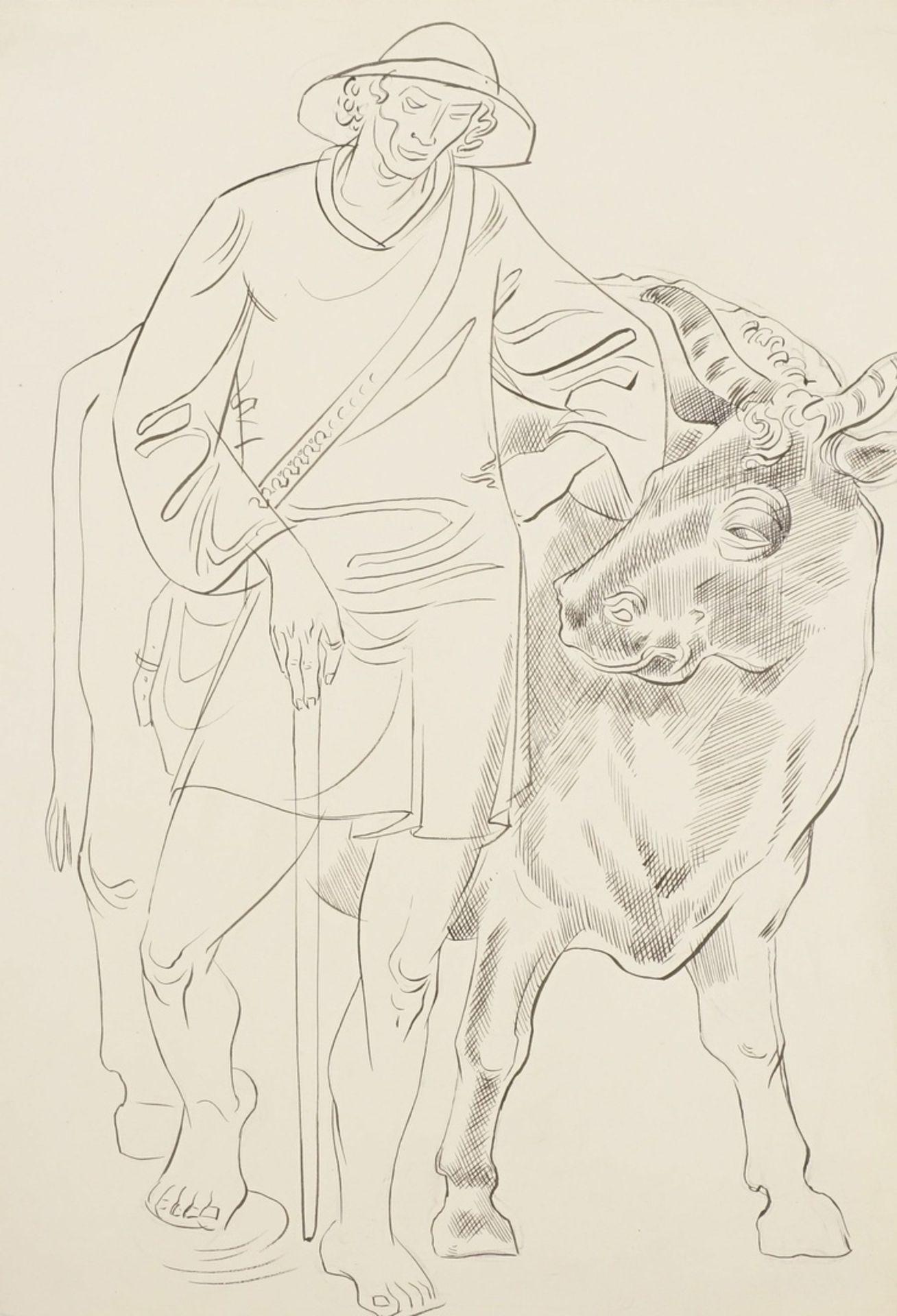 Richard Schwarzkopf, Kuh-Hirte