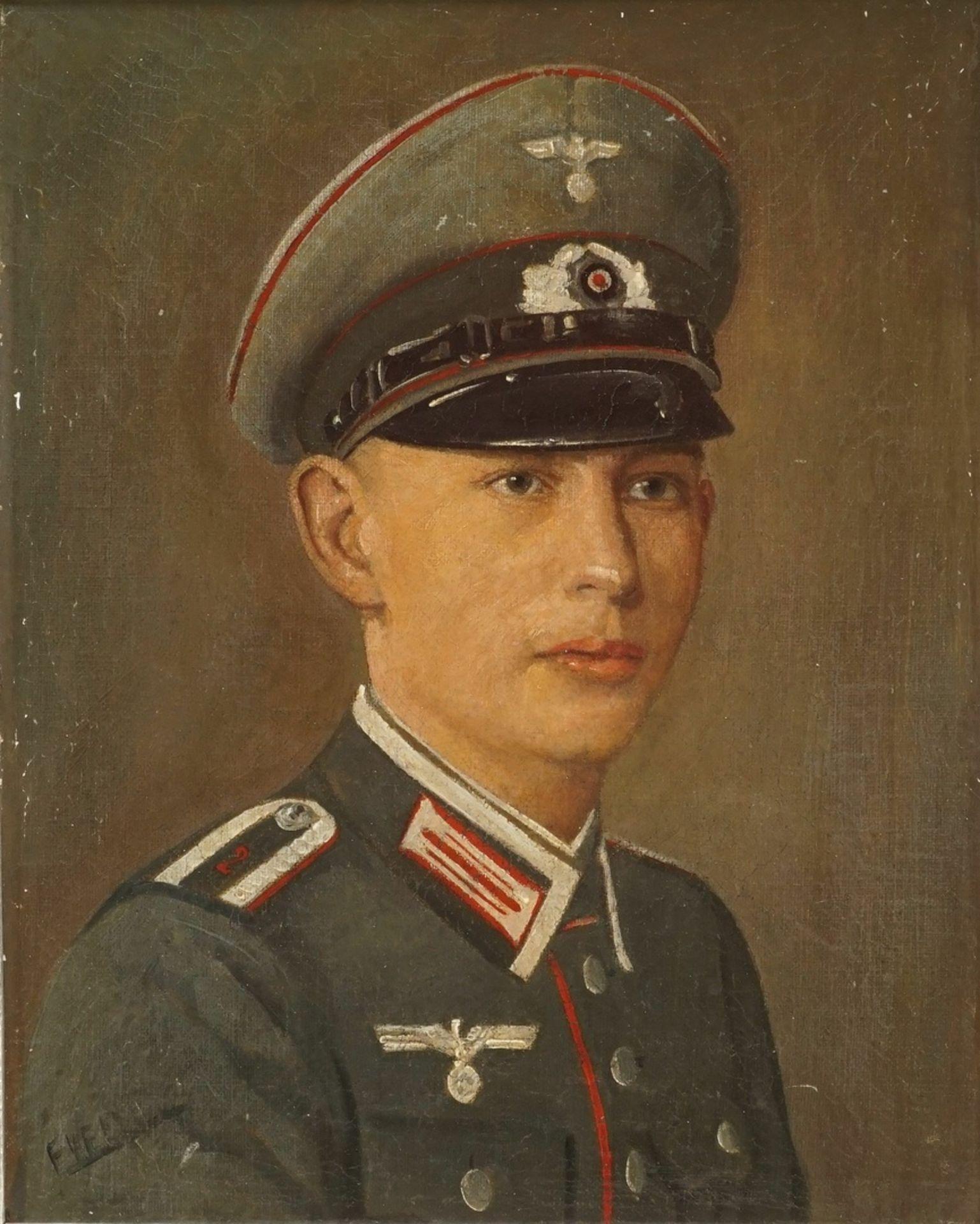 Bildnis eines Wehrmachts-Unteroffizier