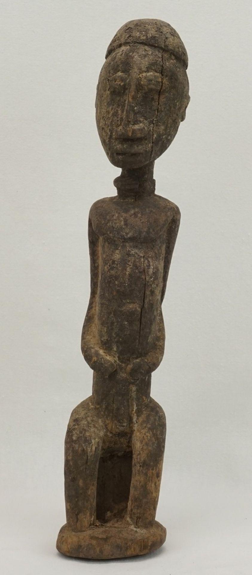 """Männliche Ahnenfigur """"dege"""" ( ), Dogon, Mali"""