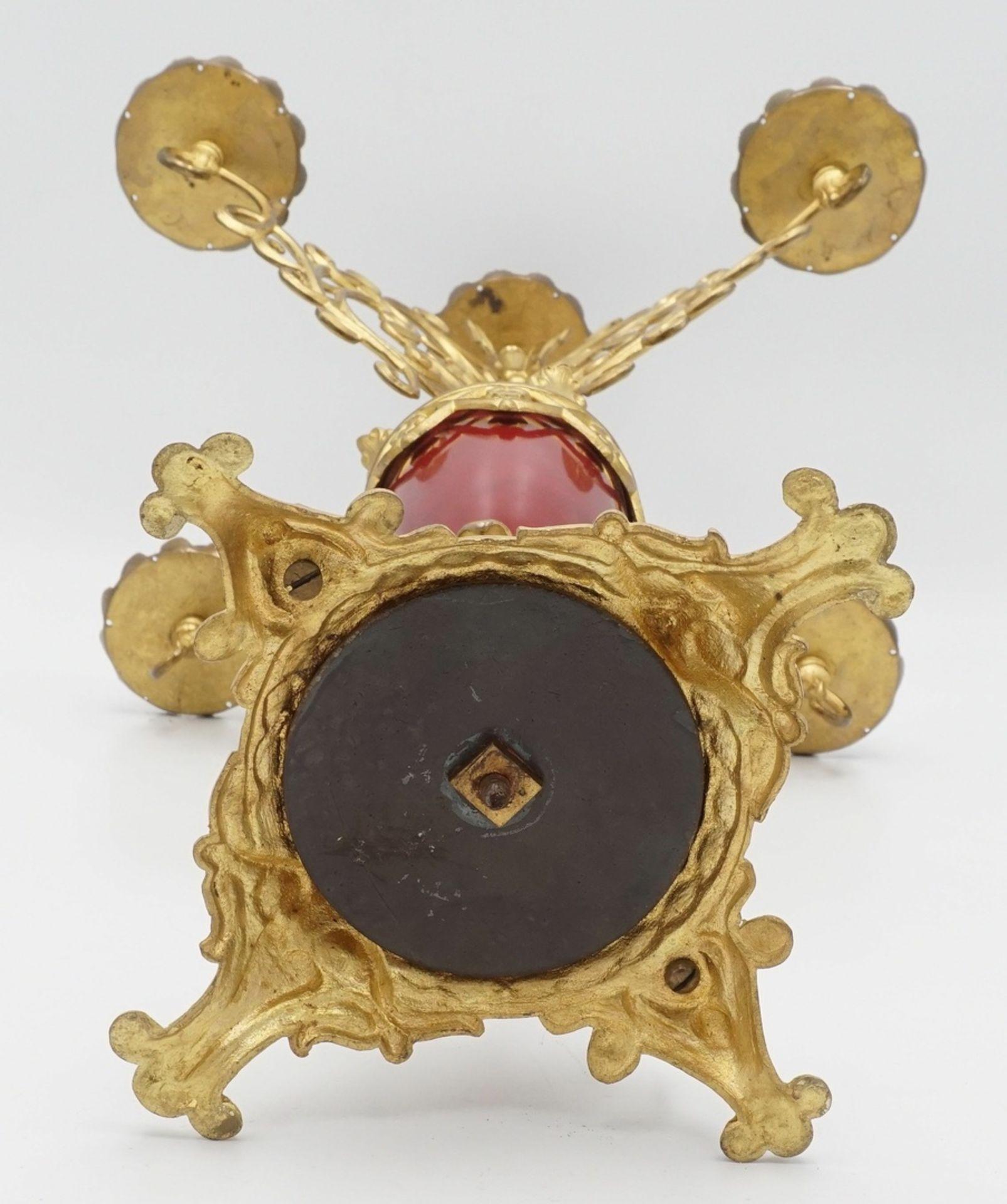Prunkvoller Tisch-Kandelaber, Leuchter, Historismus - Bild 4 aus 4