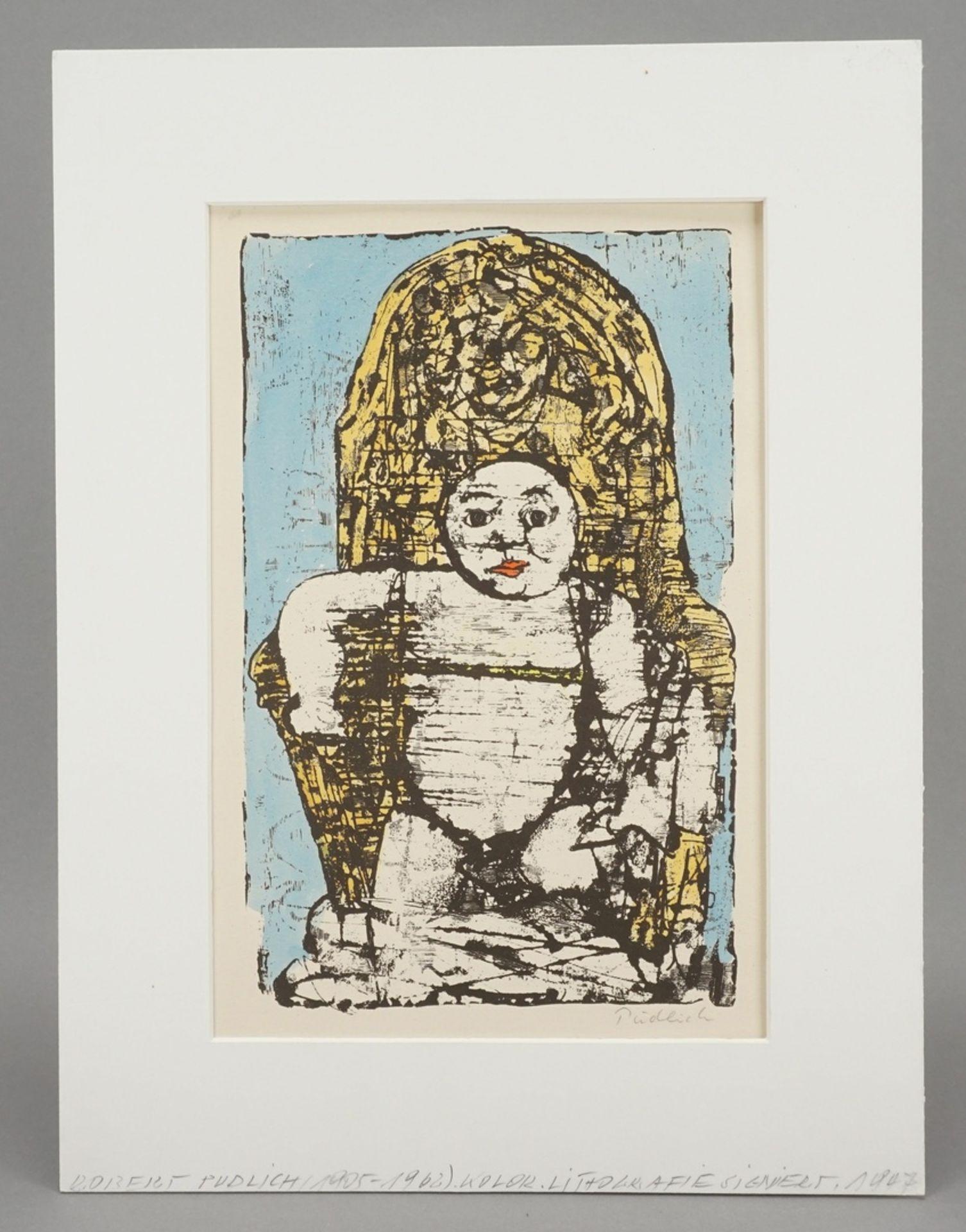 """Robert Pudlich, """"Thronendes Kind"""" - Bild 2 aus 3"""