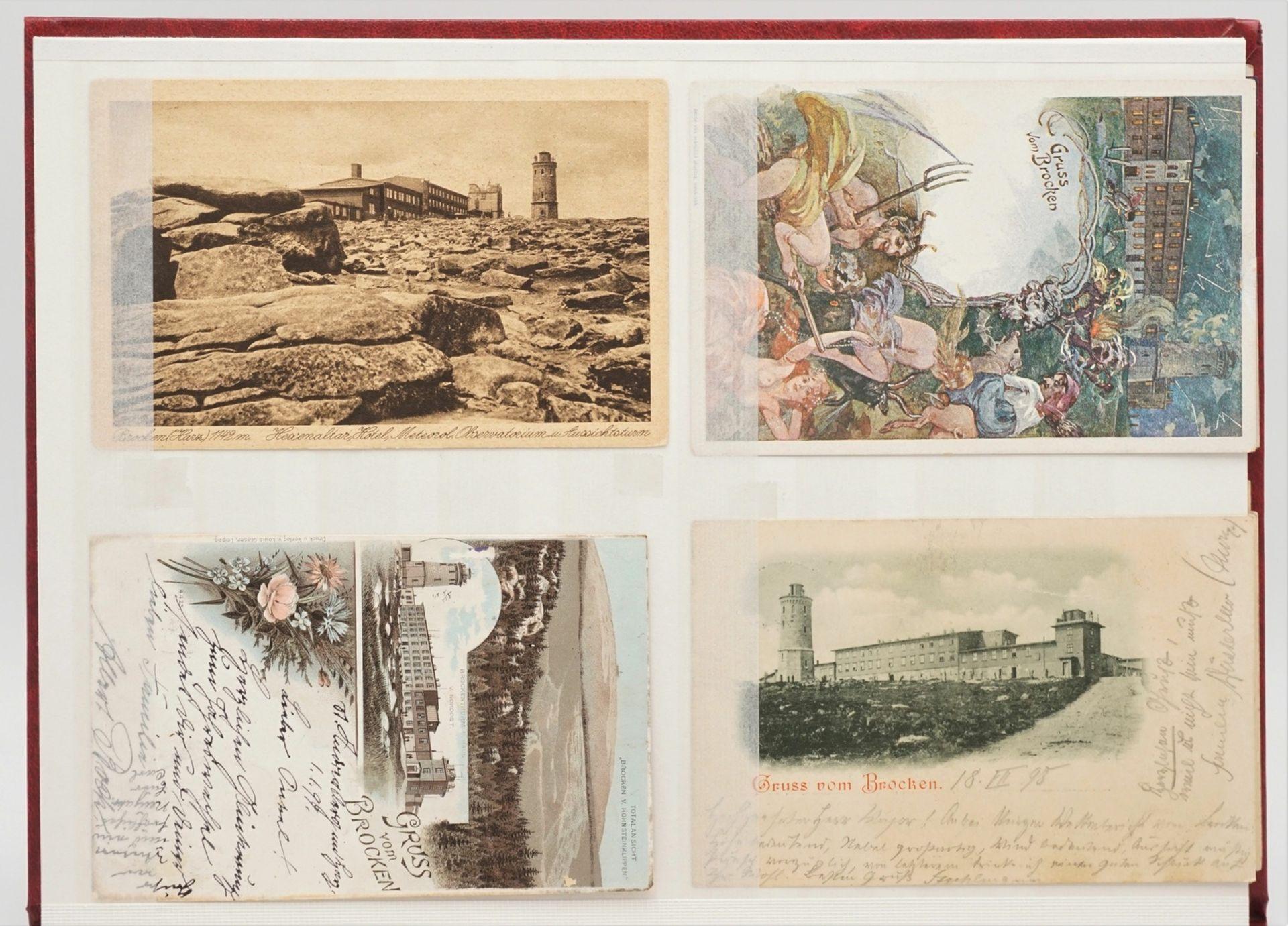 32 Ansichtskarten / Postkarten Harz - Bild 4 aus 5