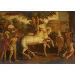 Unbekannter Maler des Barock, Triumphaler Zug König Davids