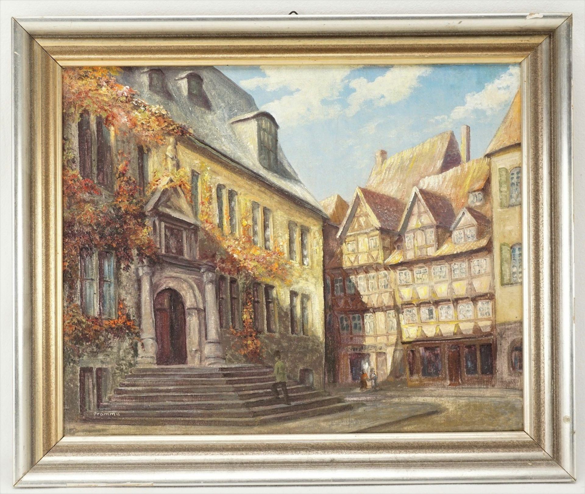 """Wilhelm Pramme, """"Das Quedlinburger Rathaus"""" - Bild 2 aus 4"""