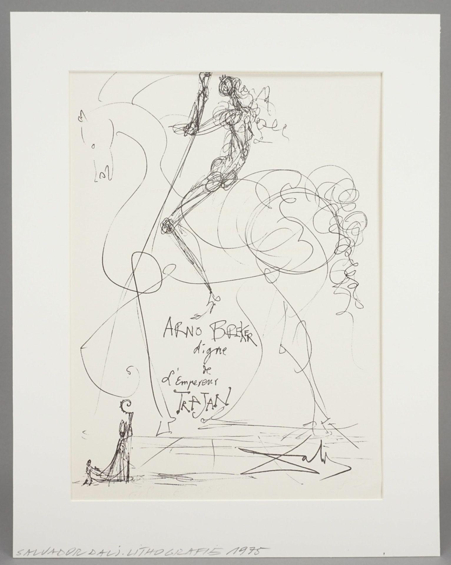 "Salvador Dalí, ""Salvador Dalí pour Arno Breker"" - Bild 2 aus 5"