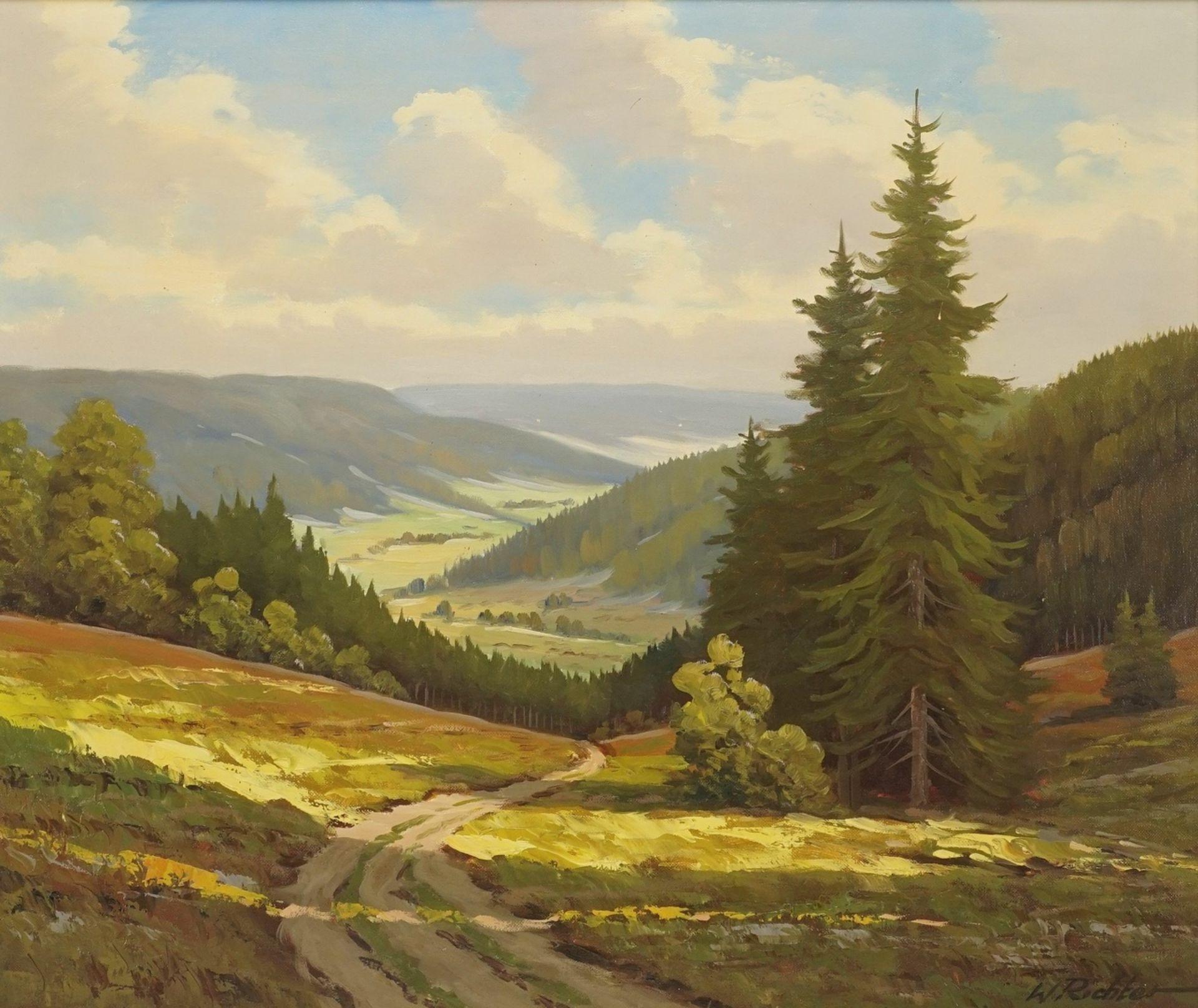 Walter Richter, Mittelgebirgslandschaft